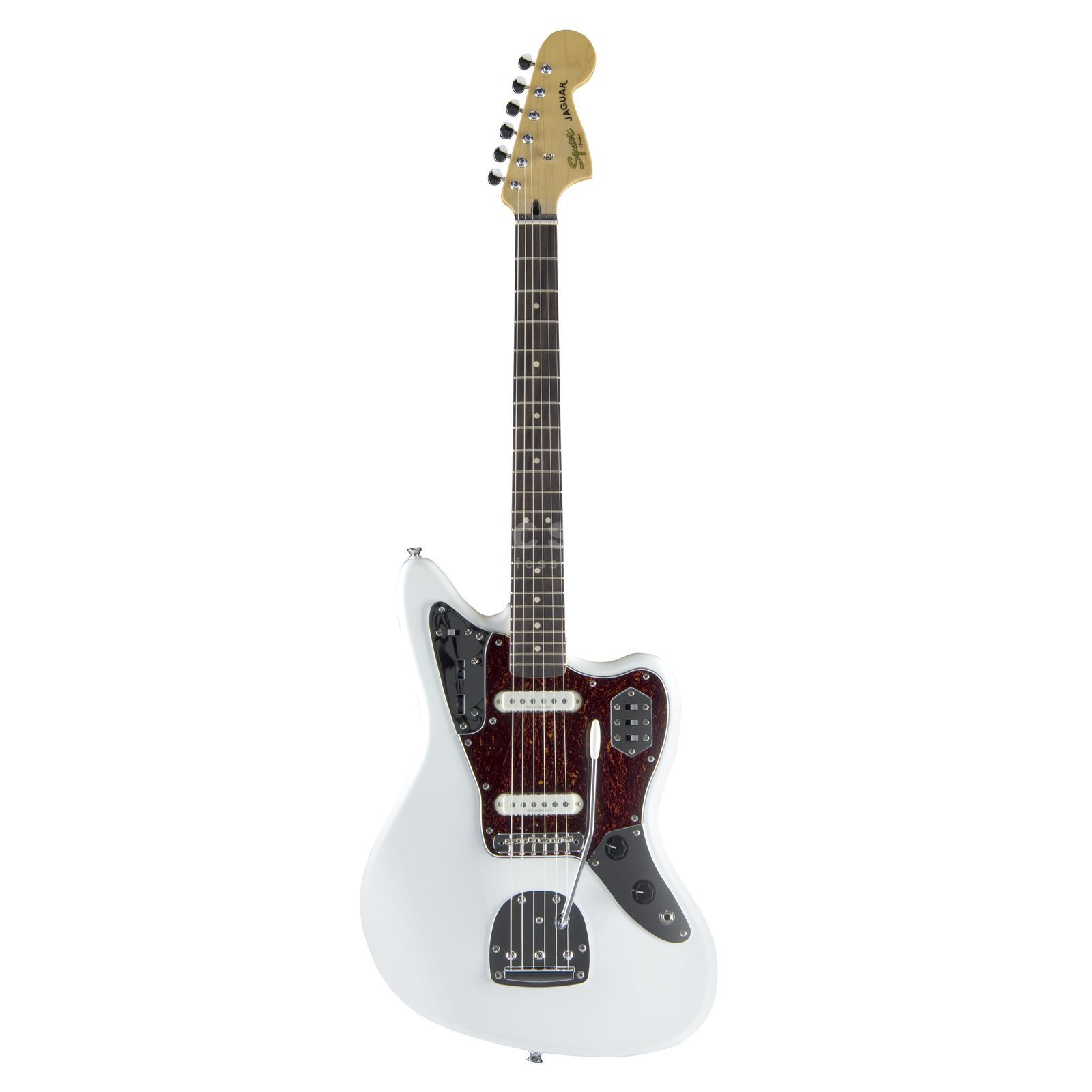 Fender Squier Vintage Modified Jaguar RW Olympic White Produktbild