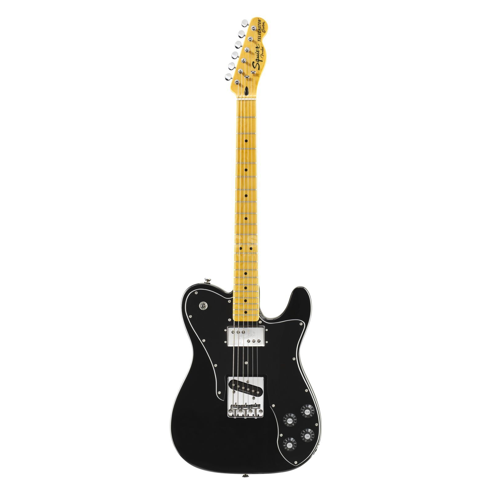 Fender Squier Vintage Modified Telecaster Custom MN Black Produktbild