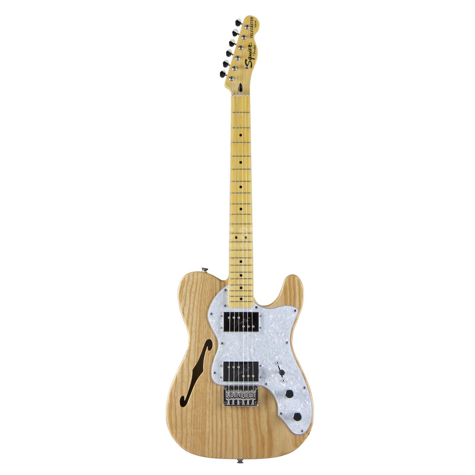 Fender Squier VM 72 Tele Thinline MN Natural Produktbillede