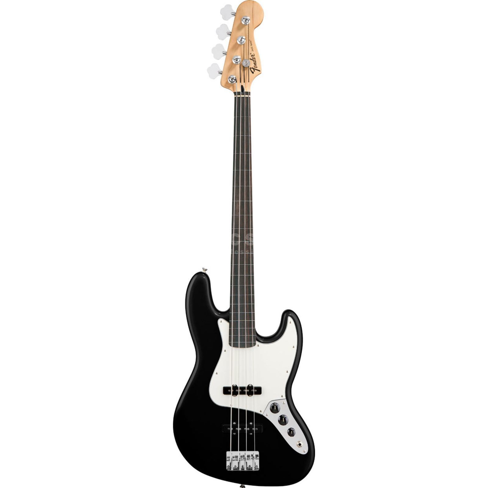 Fender Standard Jazz Bass Fretless RW Black Product Image