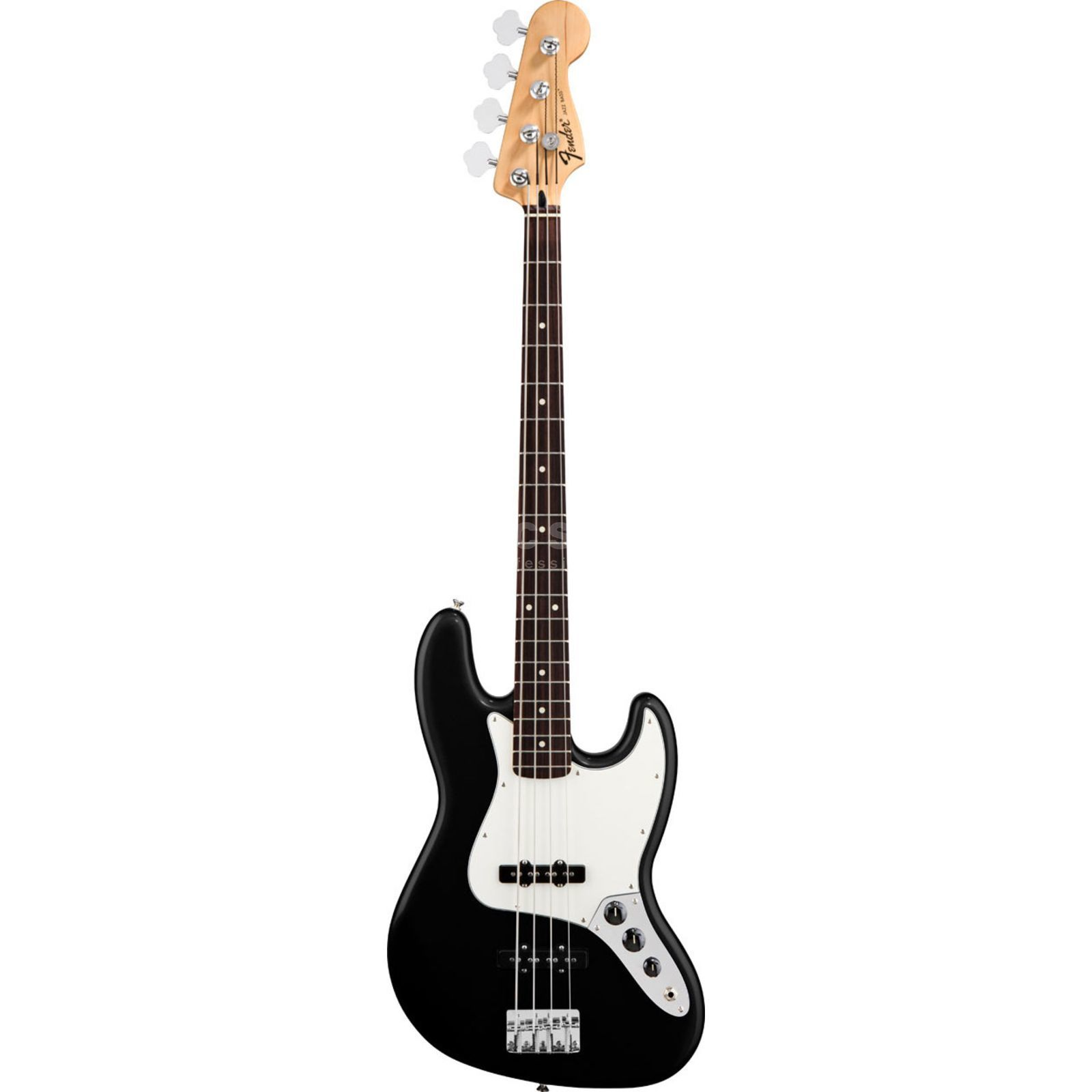 Fender Standard Jazz Bass RW Black Product Image