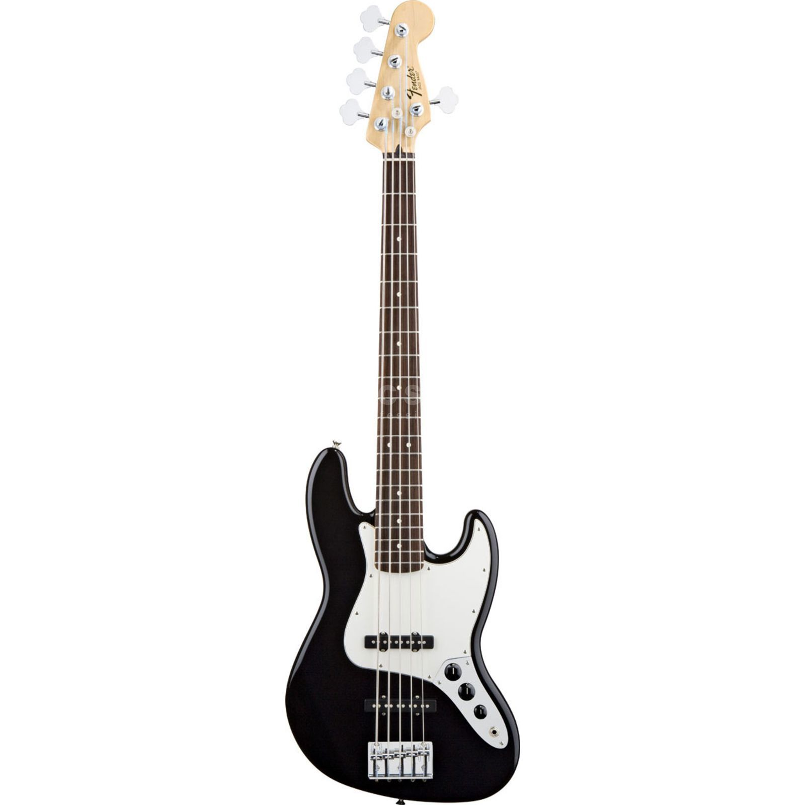 Fender Standard Jazz Bass V RW Black Product Image