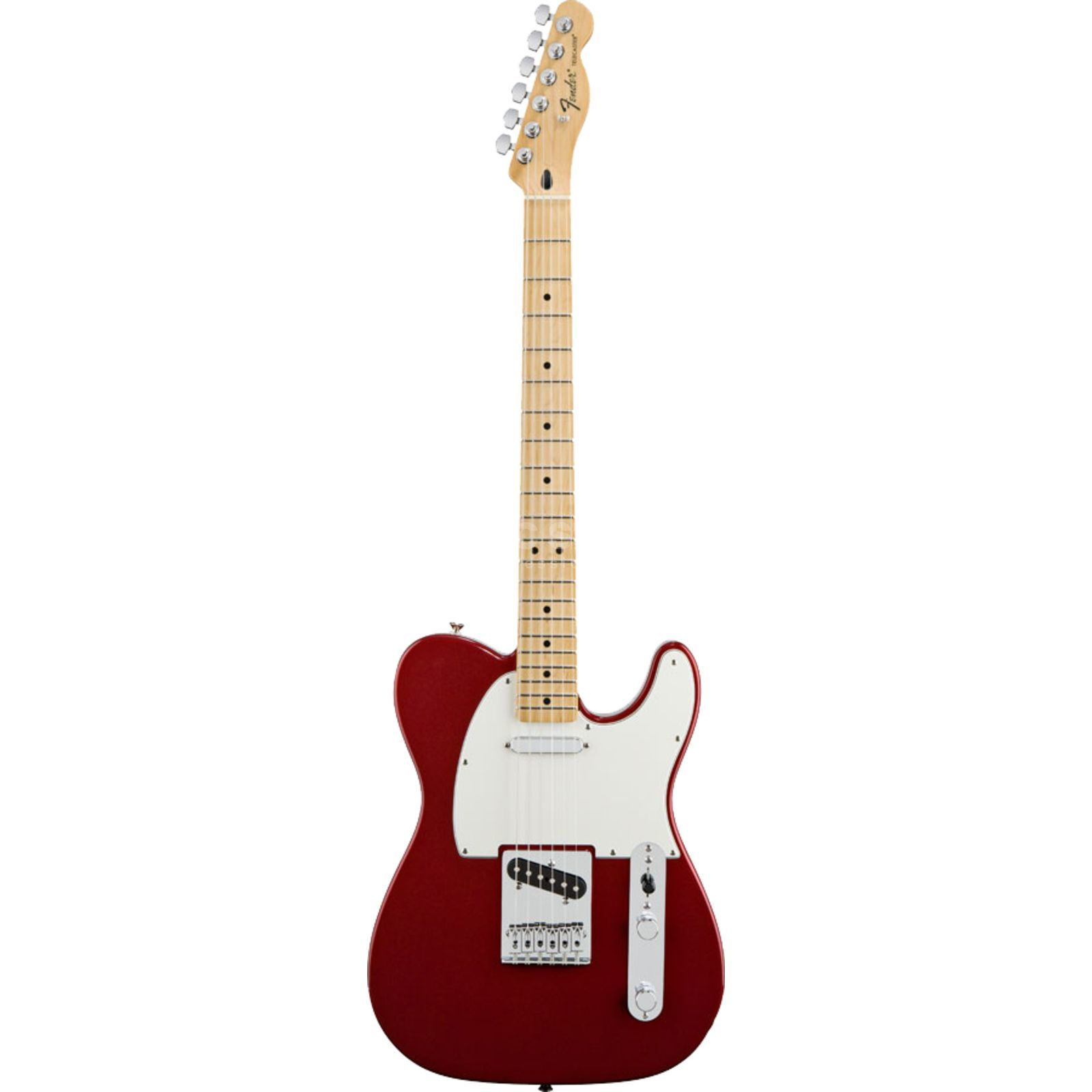 Fender Standard Telecaster MN Candy Apple Red Produktbillede