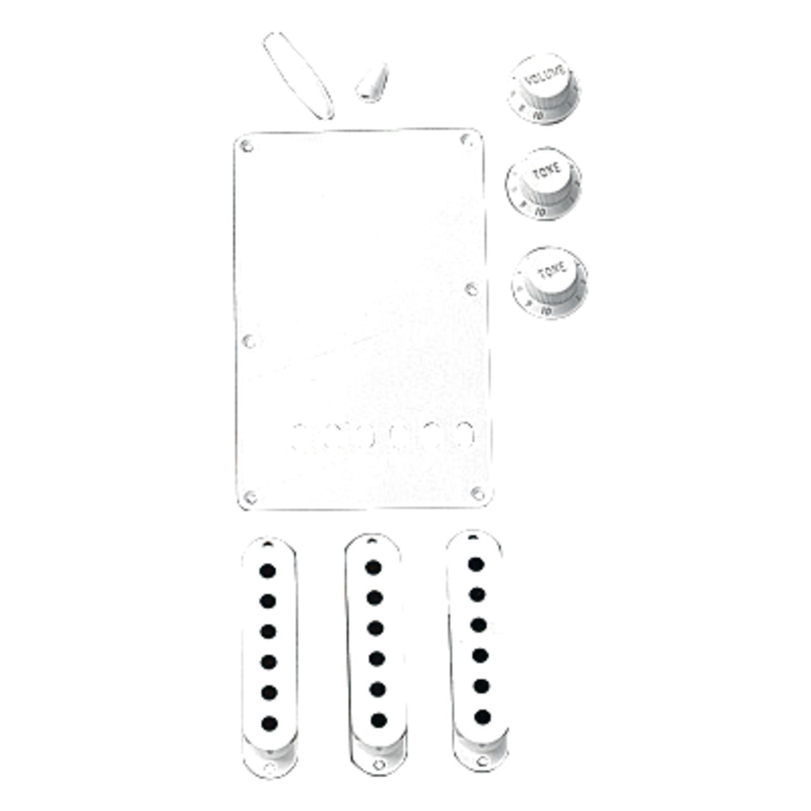 Fender Strat Accessory Kit White Produktbild