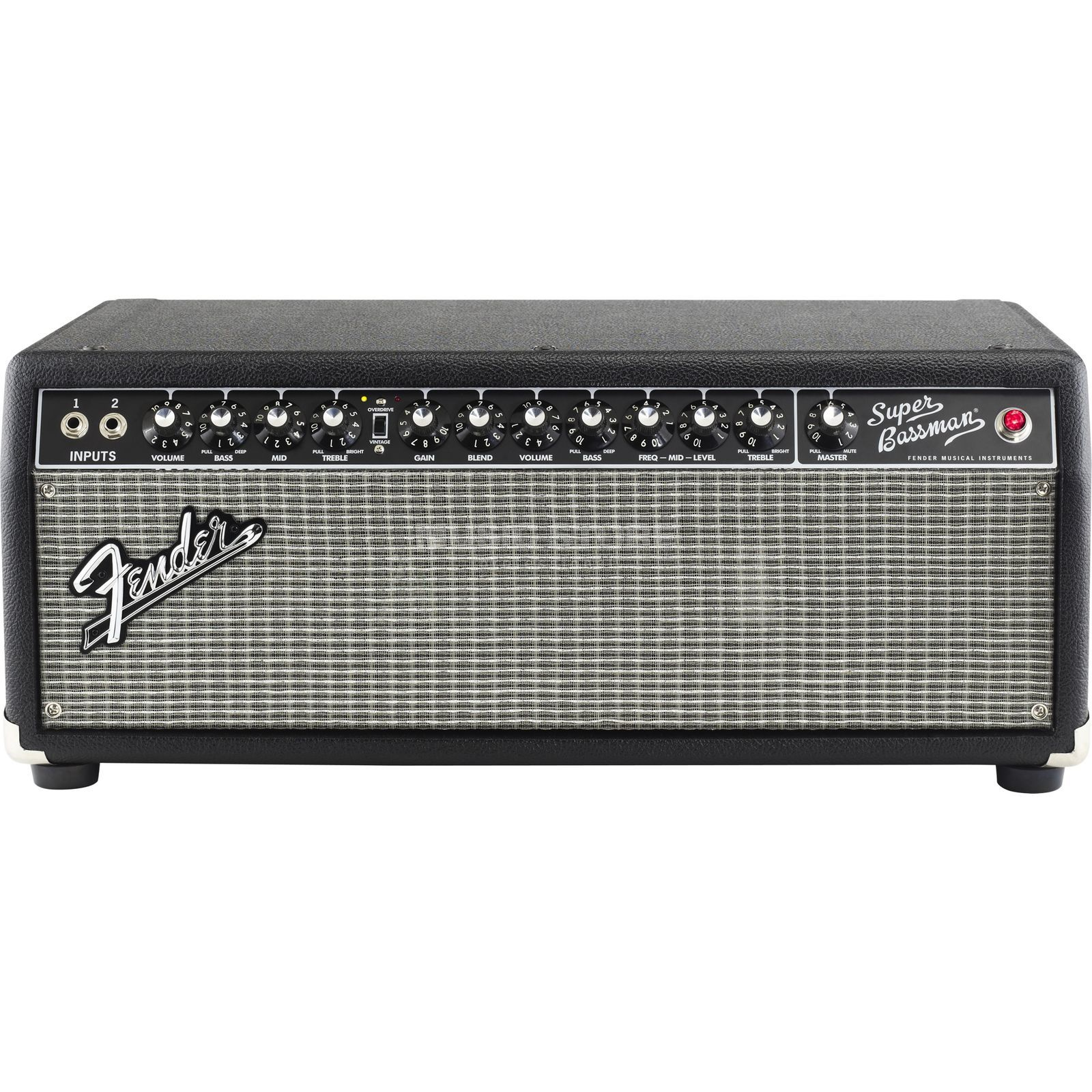 Fender Super Bassman Head Black Produktbild