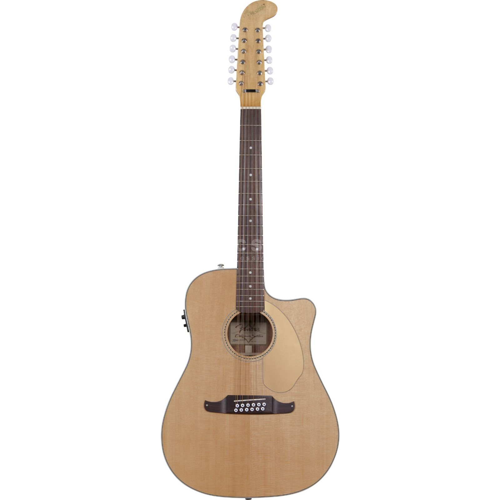 Fender Villager 12 String Electro Aco ustic Guitar   Product Image