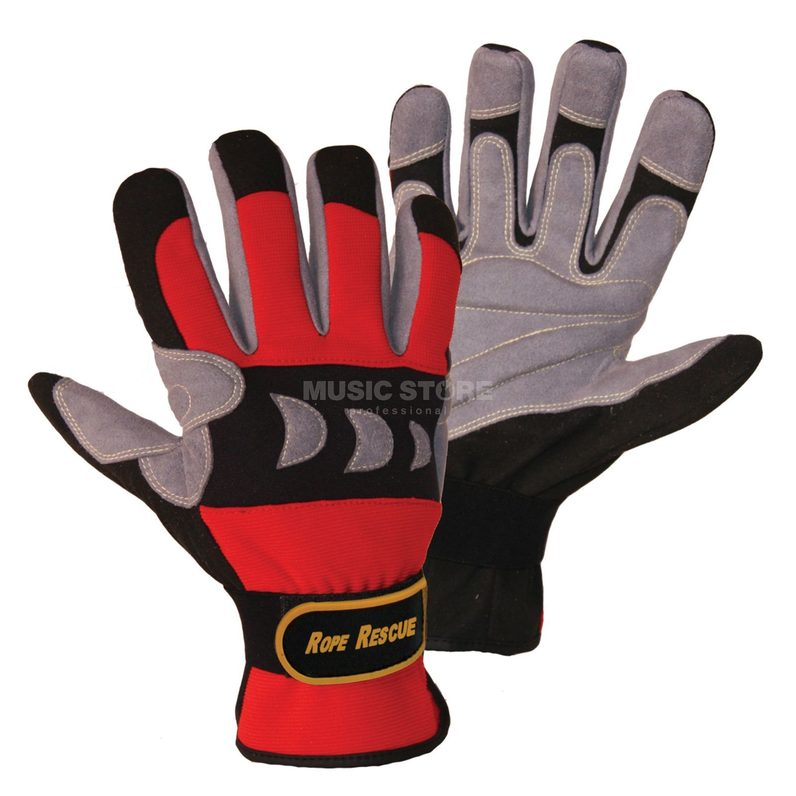 FerdyF. Rope Rescue Gloves, Gr.XXL red-grey Produktbillede