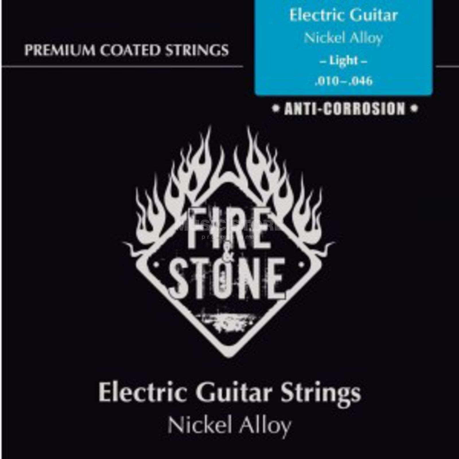 Fire & Stone E-Guitar Strings 10-46 Coated Light Produktbillede