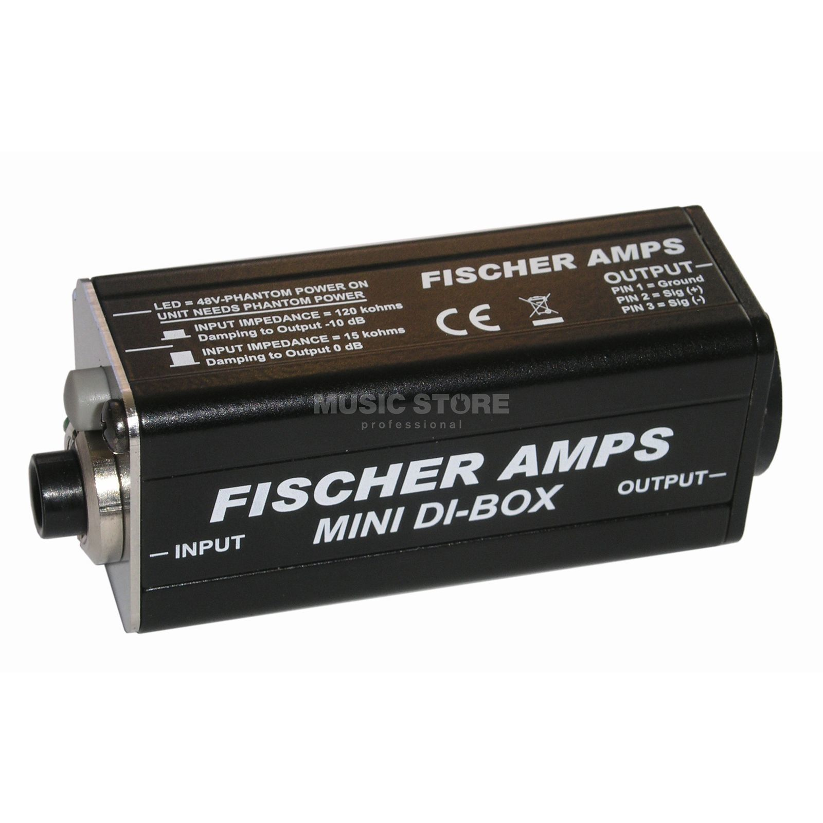 Fischer Amps Mini DI-Box - with BeltHolder Produktbillede
