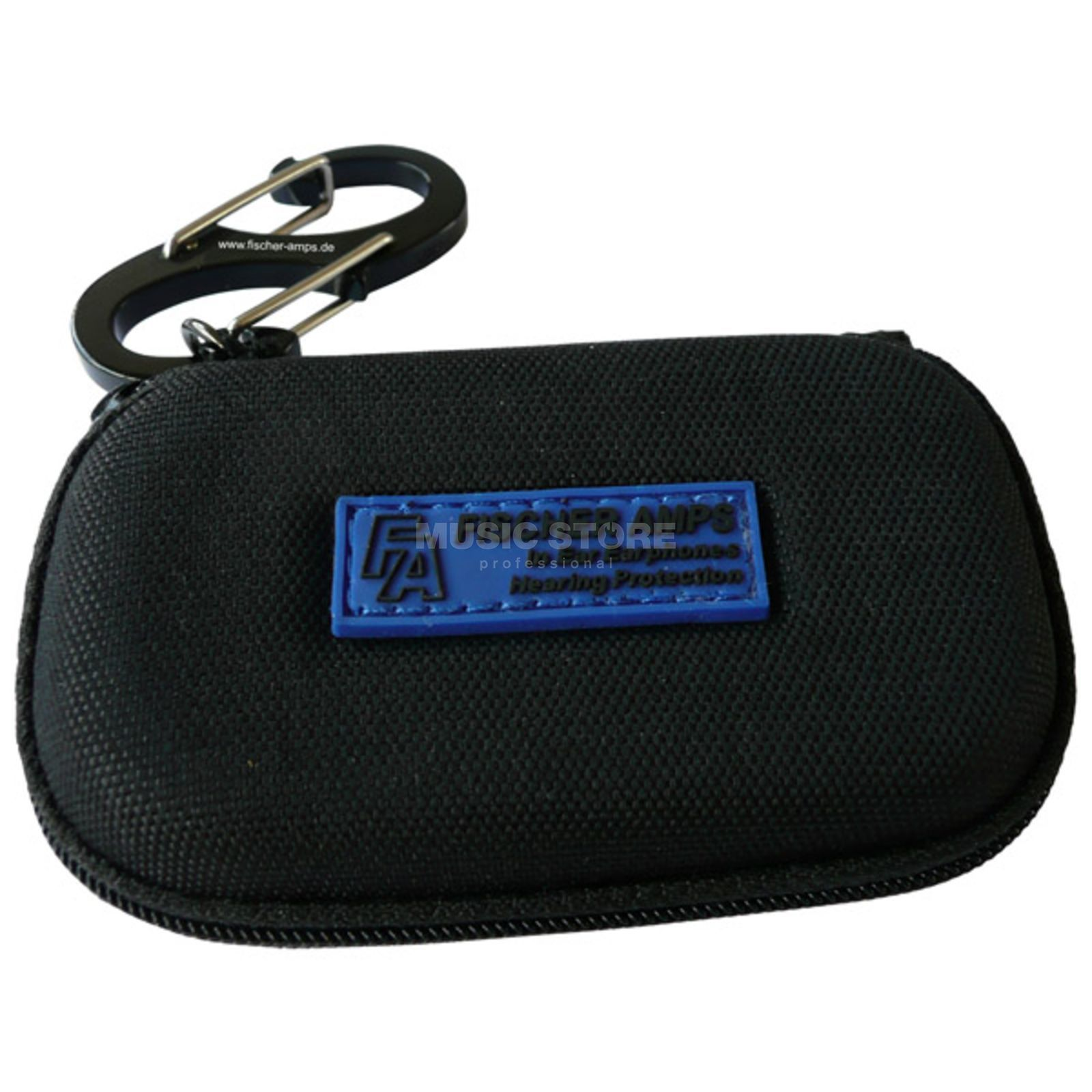 Fischer Amps Travel Bag, Transport Bag for FA-Earphones, with Karabiner Produktbillede