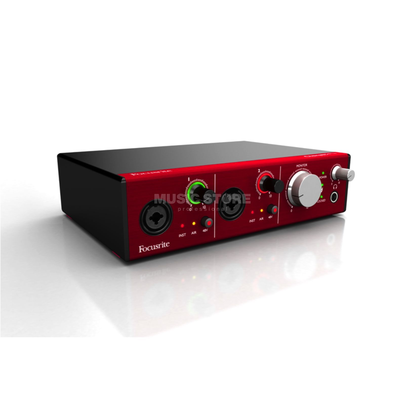 Focusrite Clarett 2Pre 10x4 TB-Interface Produktbild