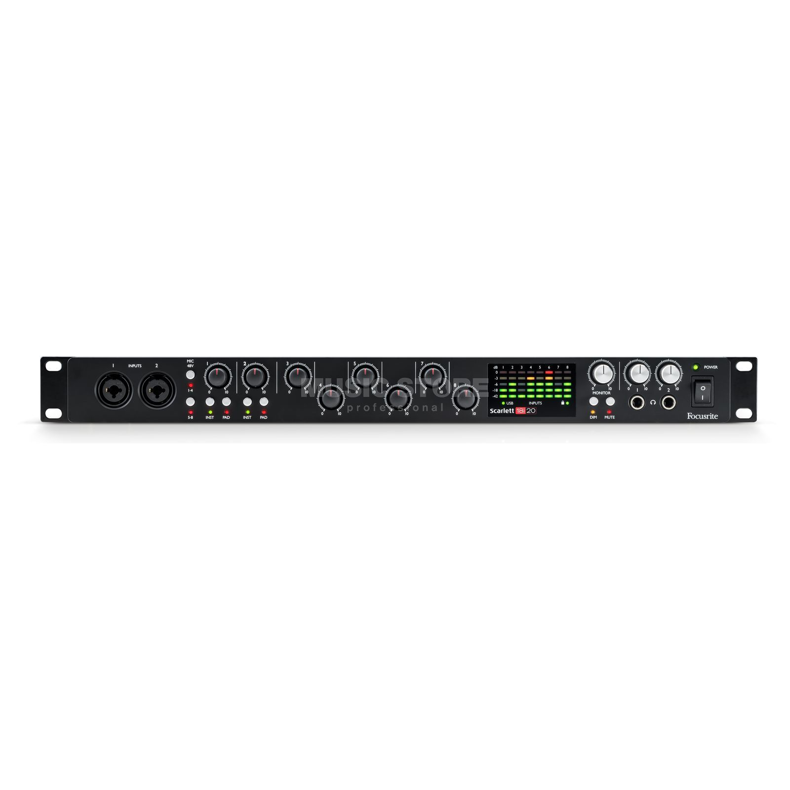 Focusrite Scarlett 18i20 2nd Gen Product Image