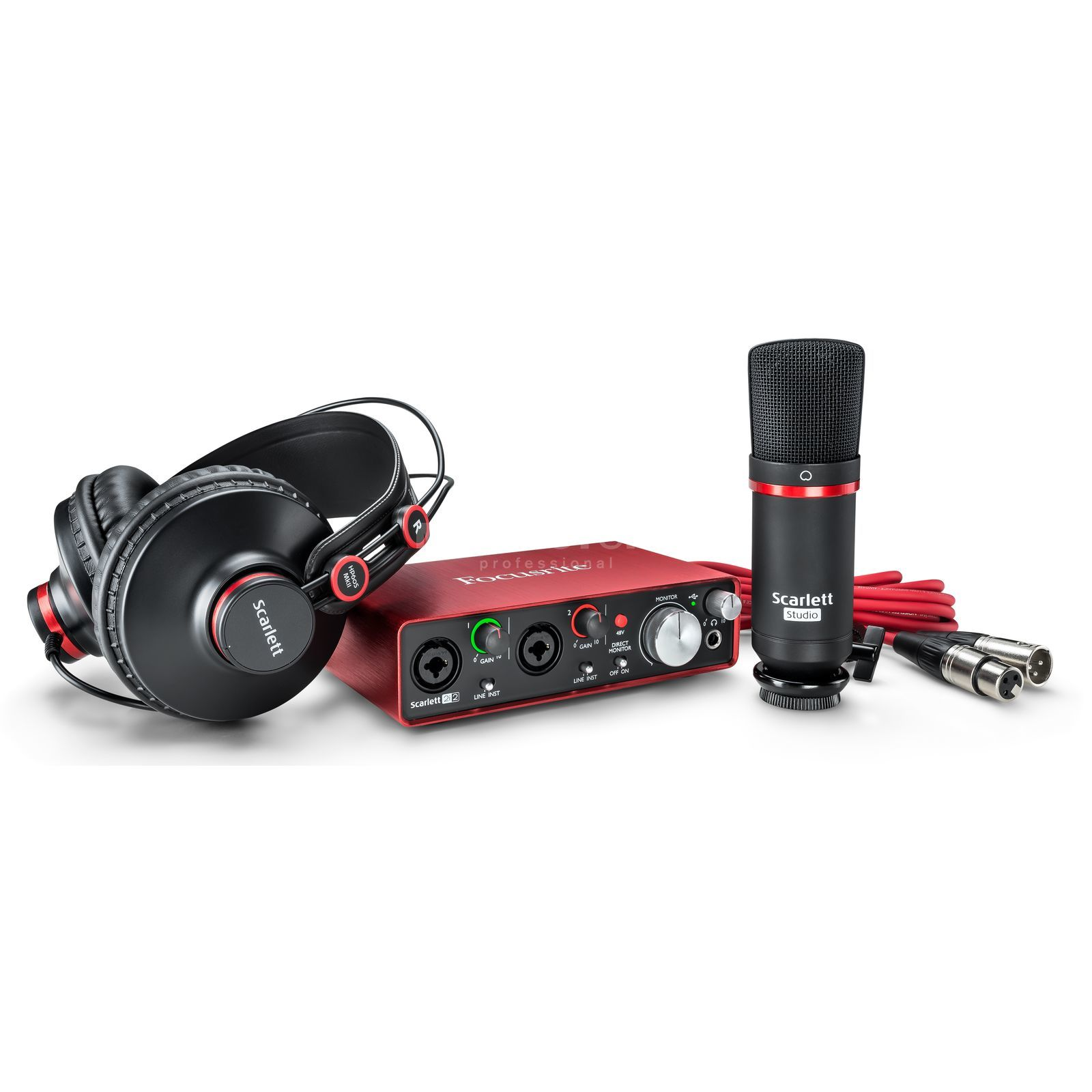 Focusrite Scarlett 2i2 Studio II 2nd Gen Product Image
