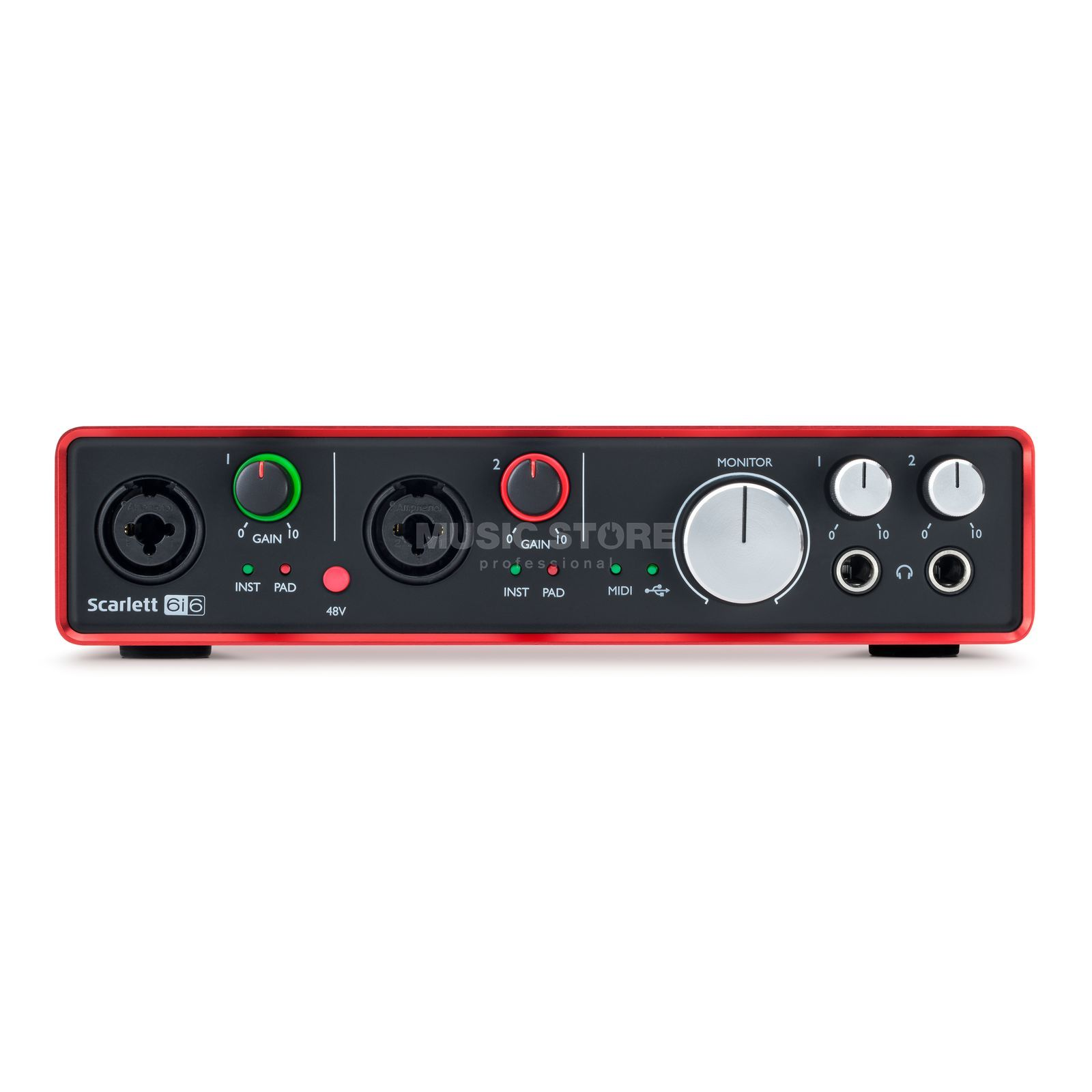 Focusrite Scarlett 6i6 2nd Gen Product Image