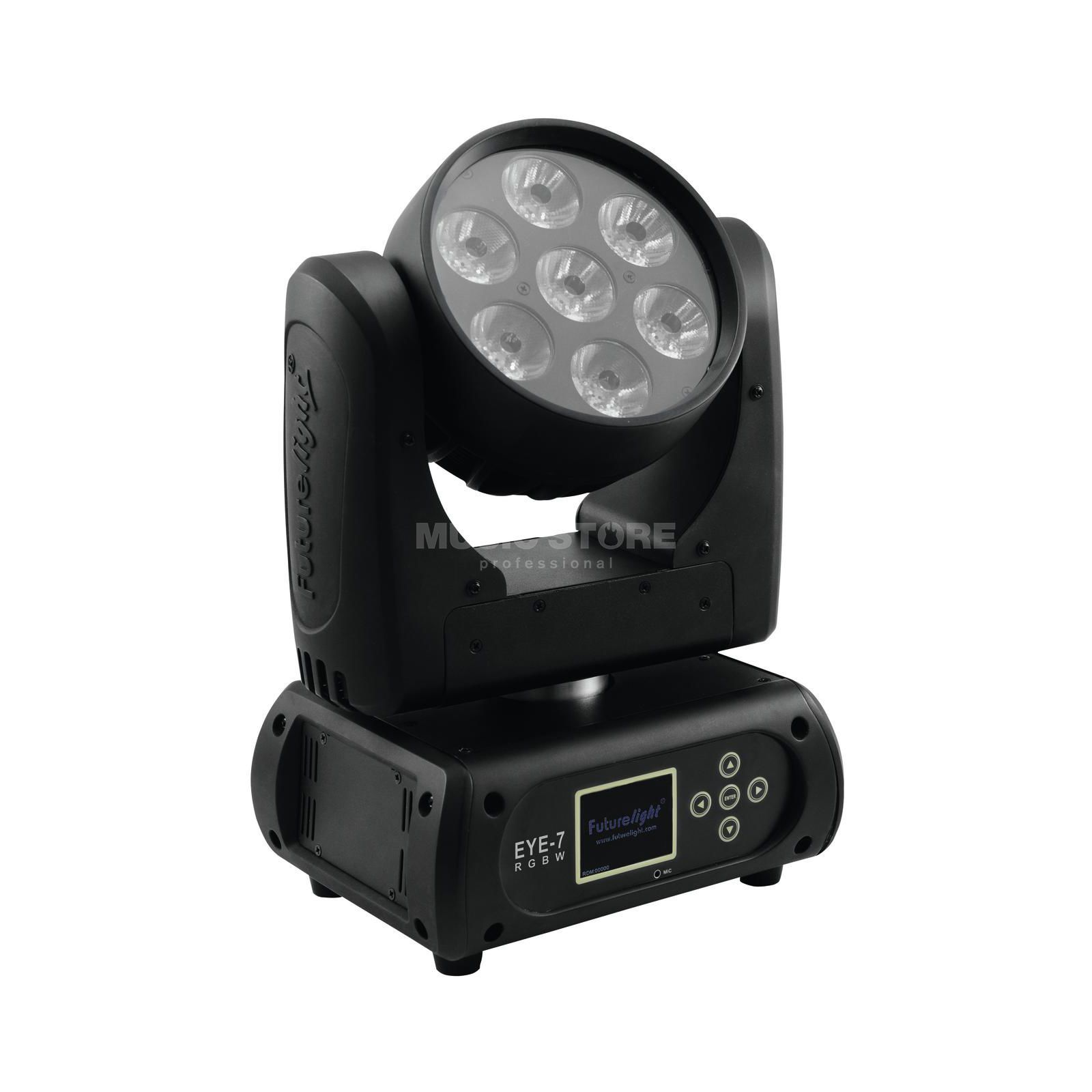 Futurelight EYE-7 RGBW Moving Head Beam 7x 10-W-QCL-RGBW-LEDs Produktbillede