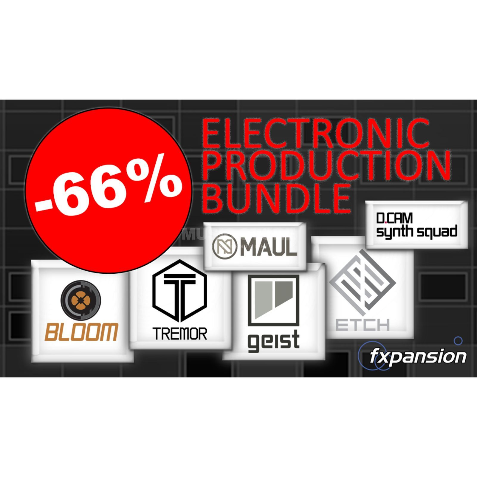 FXpansion Electronic Producer Bundle  Produktbild