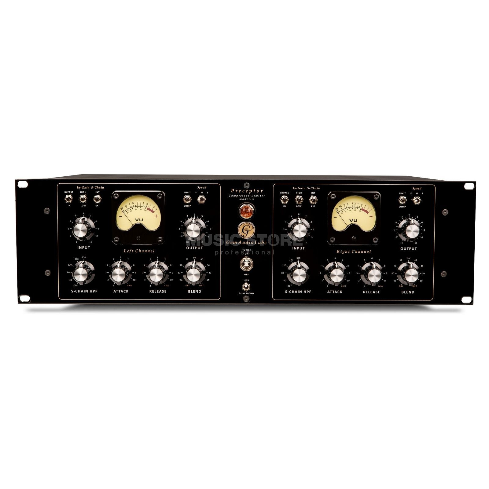 Gem Audio Labs Preceptor Model A 2-Channel Compressor/Limiter Produktbillede