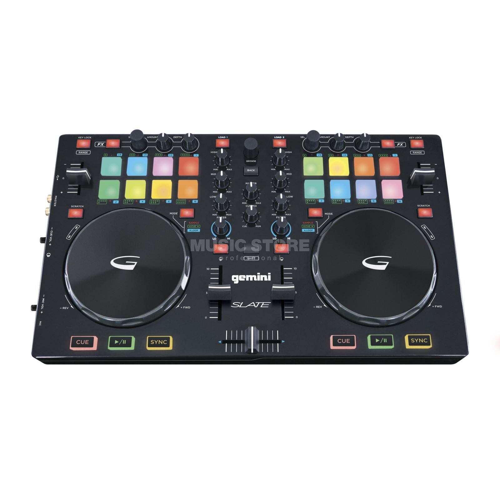 Gemini Slate 2-Channel DJ-Controller Product Image
