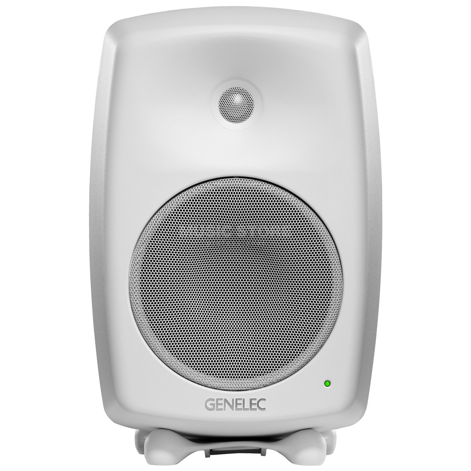 Genelec 8040BWM Compact 2-Way Active Monitor Speaker, White Produktbillede