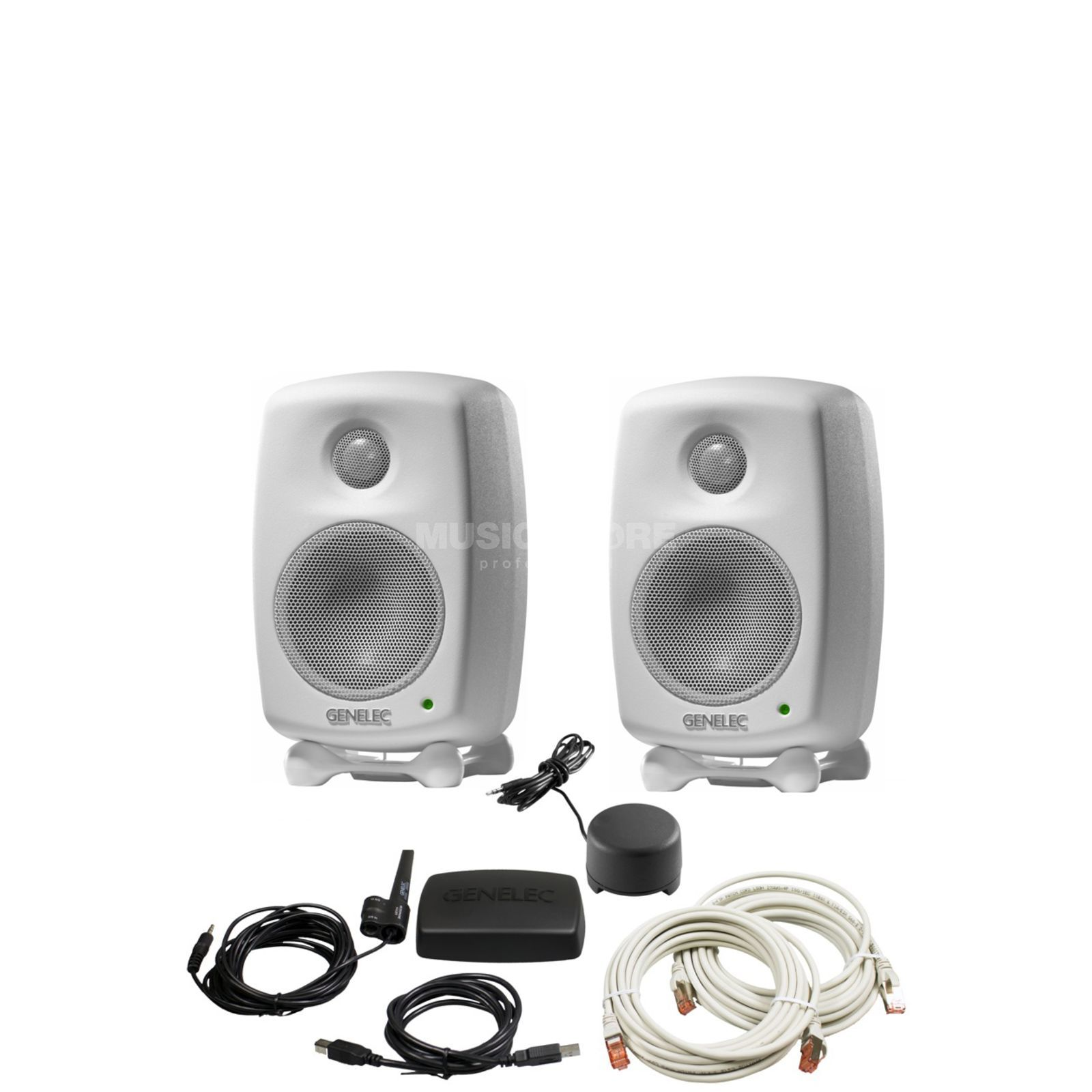 Genelec 8330AWM-Pack DSP-Studio Monitor Pack, white Produktbillede