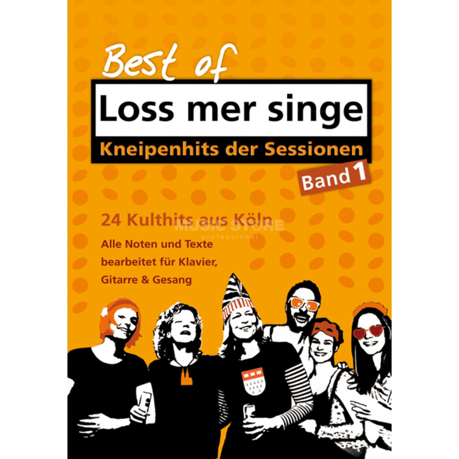 Gerig-Verlag Best of – Loss mer singe - Band 1 - Karneval Produktbild