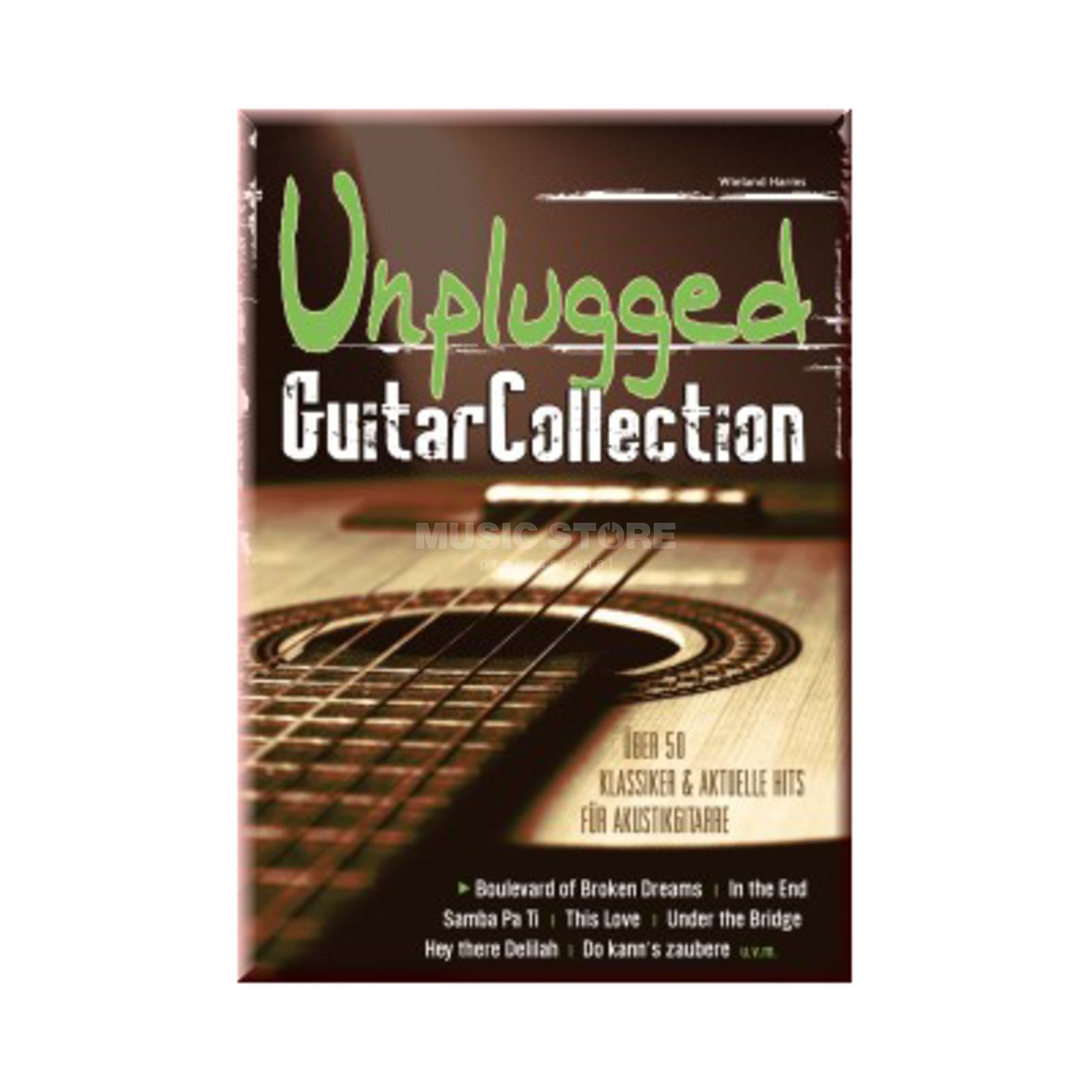 Gerig-Verlag Unplugged Guitar Collection Wieland Harms - Gitarre Produktbild