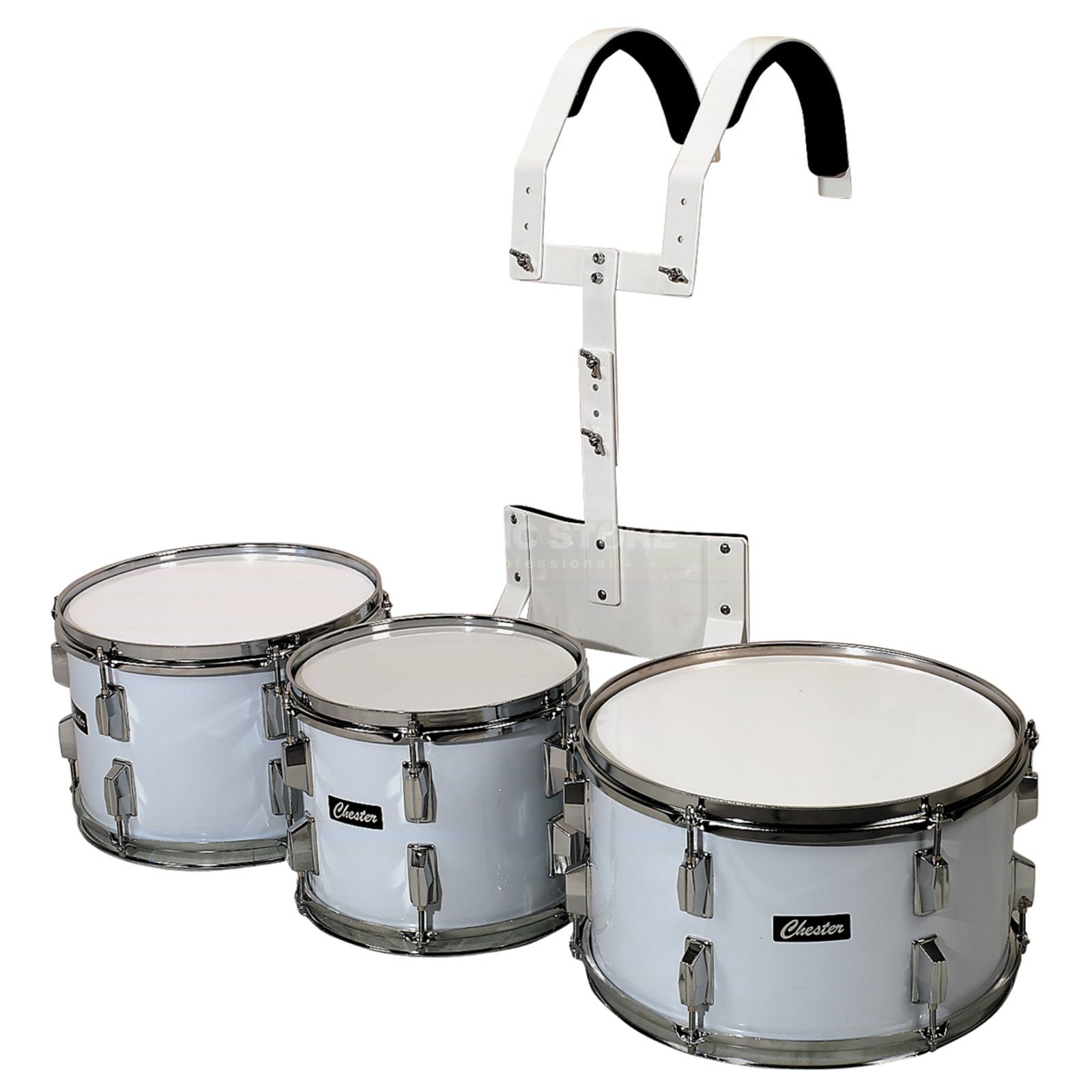 "Gewa Marching Drum Set, 10"", 12"", 14"" Produktbillede"