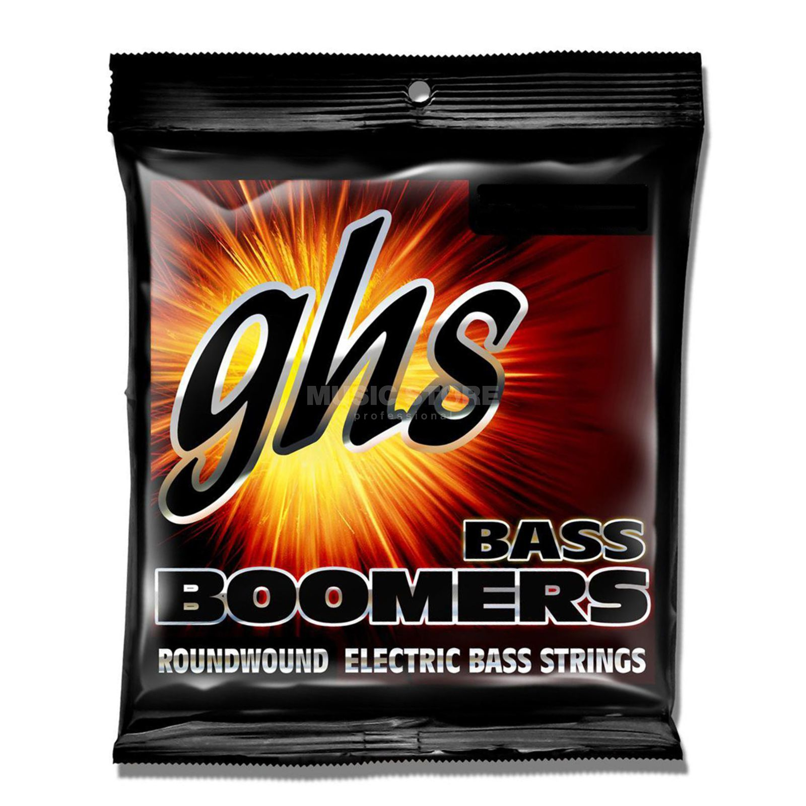 GHS 4er bas Boomers 45-105 Long Scale Plus 45-65-85-105 Productafbeelding
