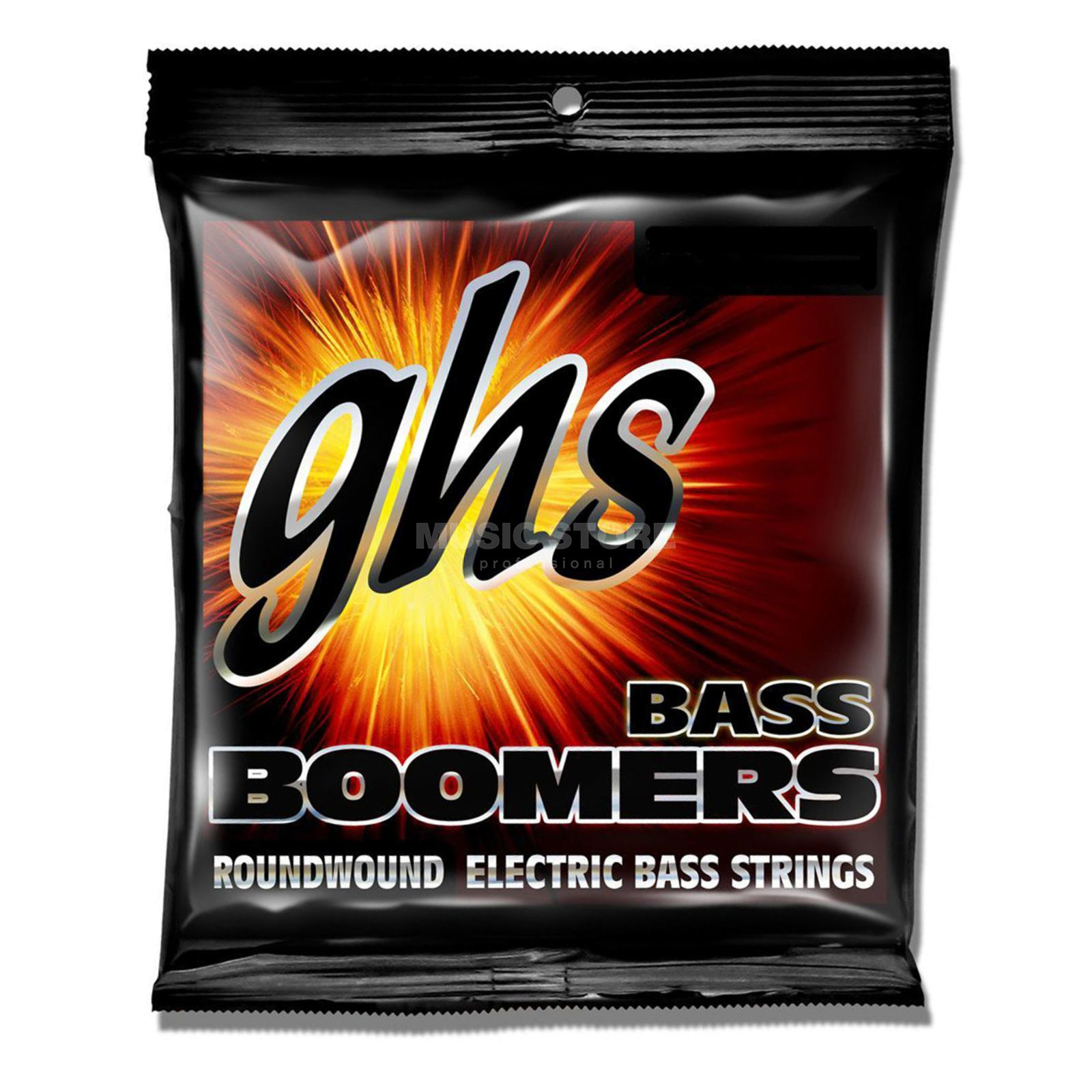 GHS E-Bass,5er,30-100,Boomers Roundwound Long Scale Изображение товара