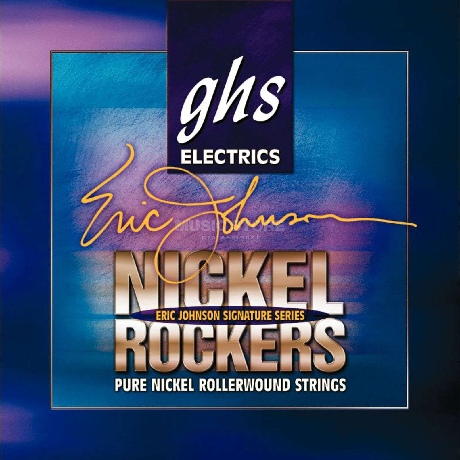 GHS E-Git.Saiten,11-52,Nickel Rockers,Eric Johnson Signature Produktbillede