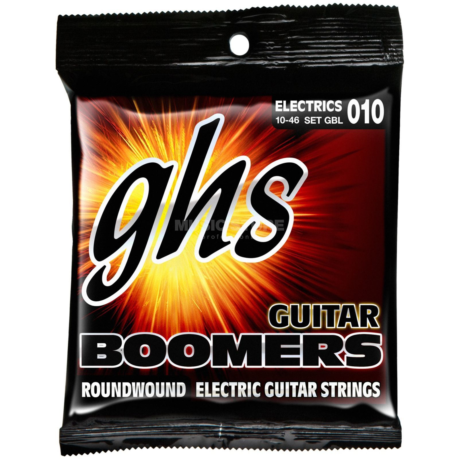 GHS E-Guit. Strings,10-46, Boomers Nickel Plated Roundwound Produktbillede