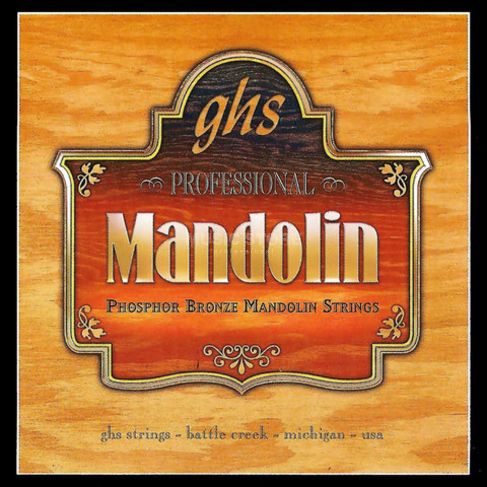 GHS Mandoline - Strings,009 - 032 Phosphor Bronze, Loop End Imagem do produto
