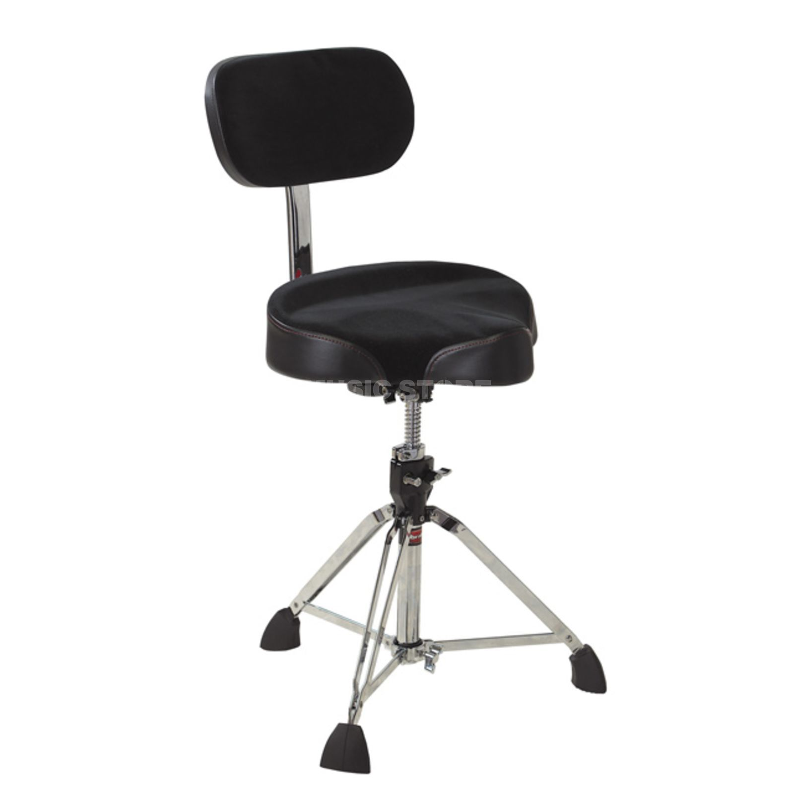 Gibraltar Drum Throne 9608MB, Saddle, incl. backrest Produktbillede