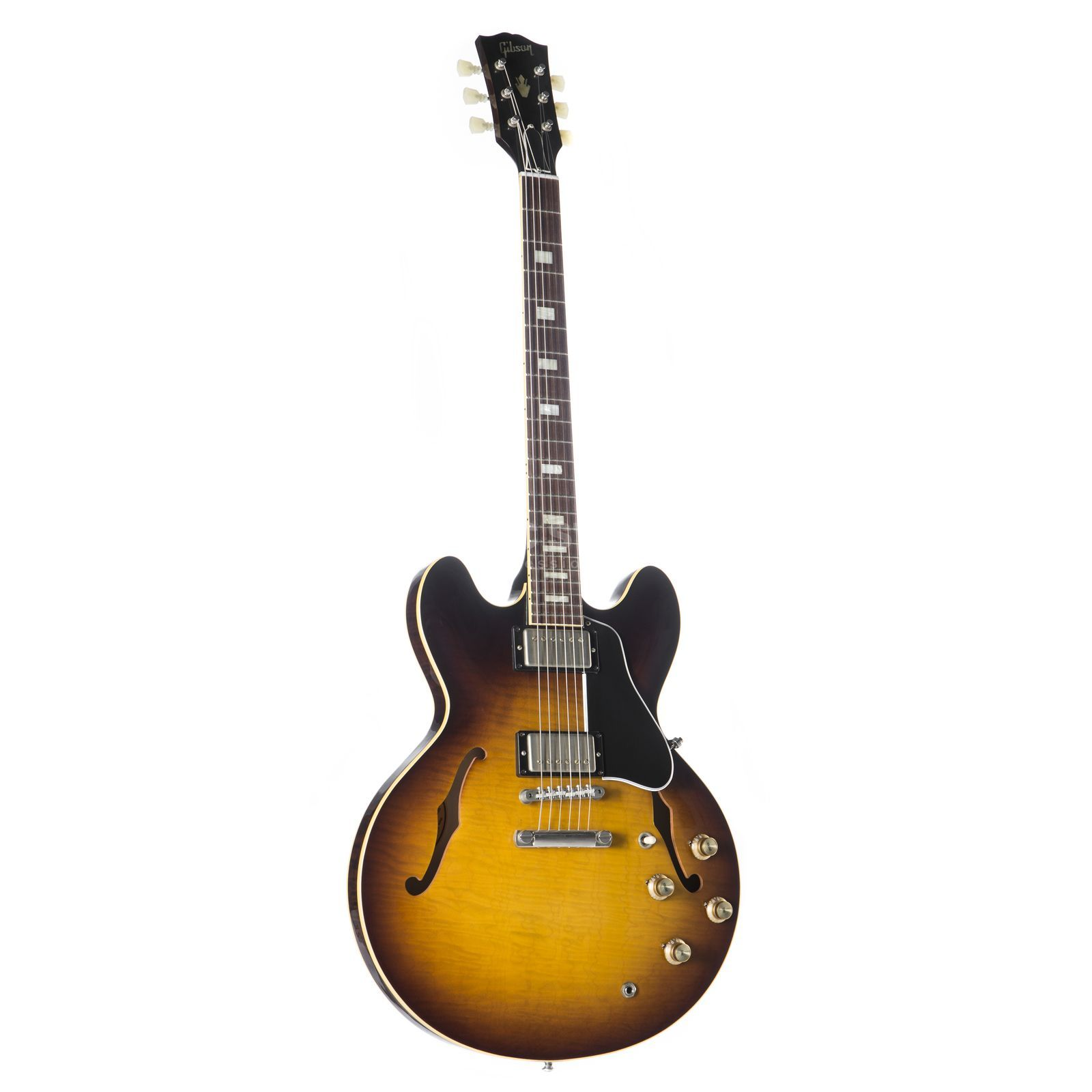 Gibson 1963 ES-335TDN Hand Selected Top & Back Vintage Sunburst #61793 Imagem do produto
