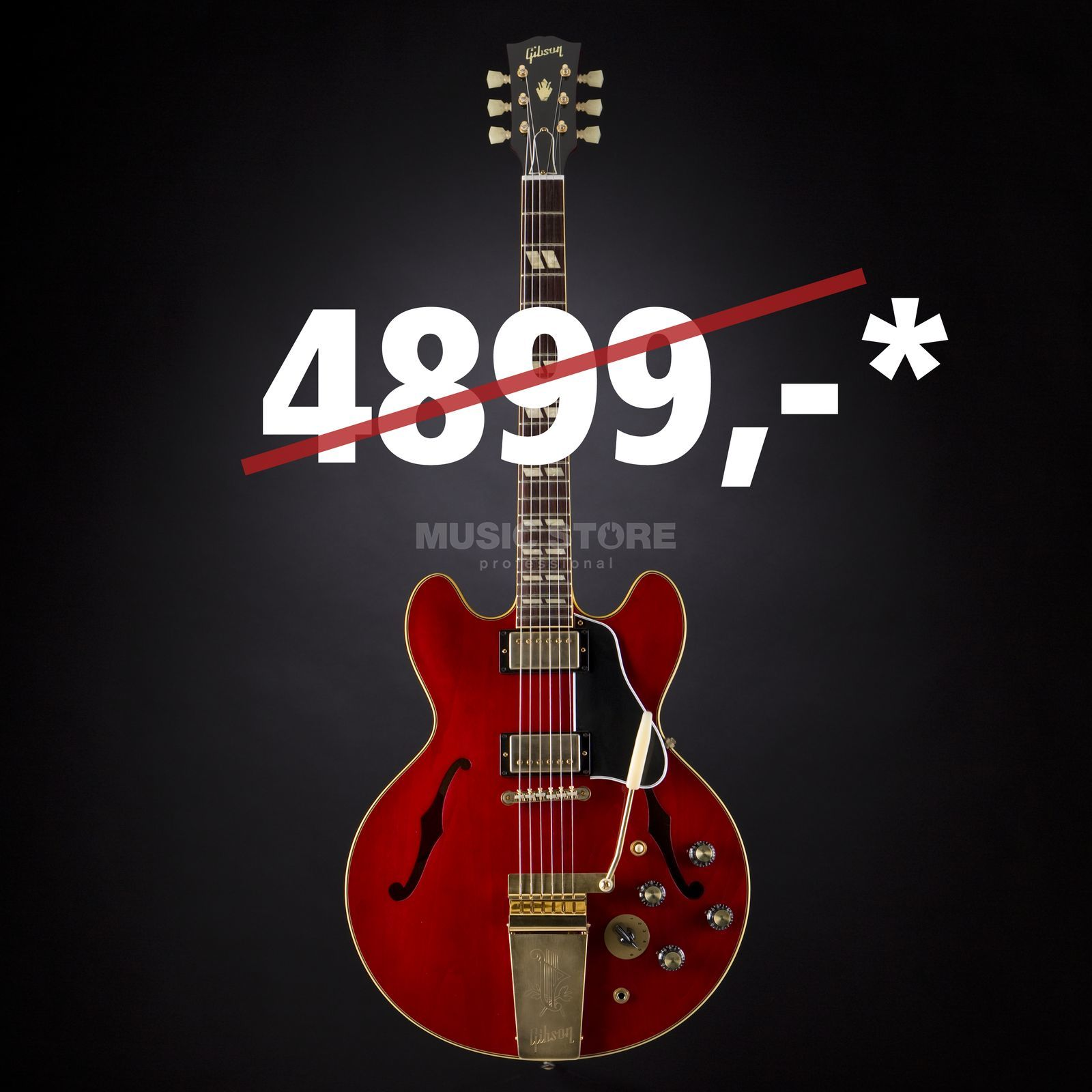 Gibson 1964 ES-345 TDC Maestro VOS '60s Cherry #60491 Product Image