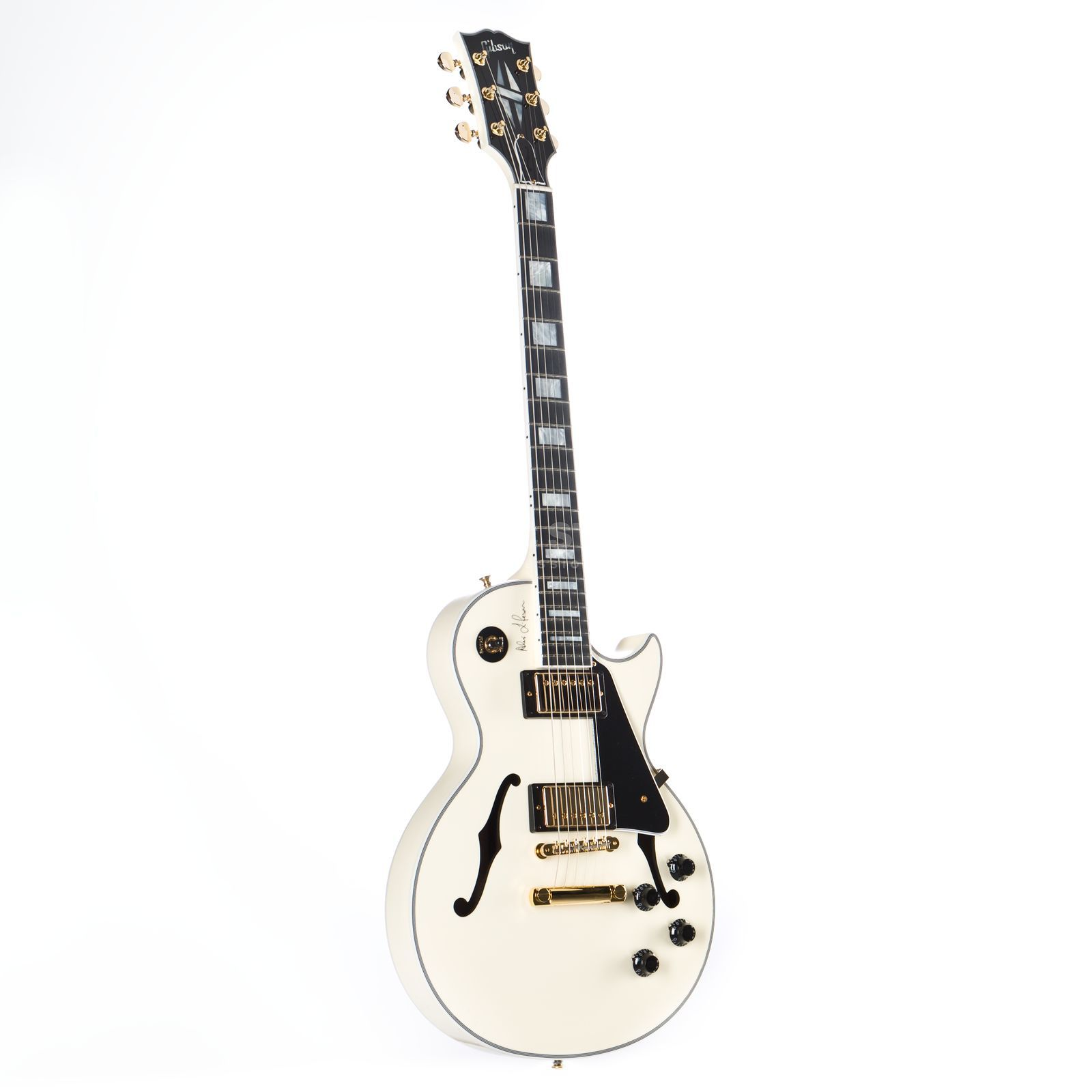 Gibson Alex Lifeson ES-Les Paul Classic White #87 of 200 Изображение товара