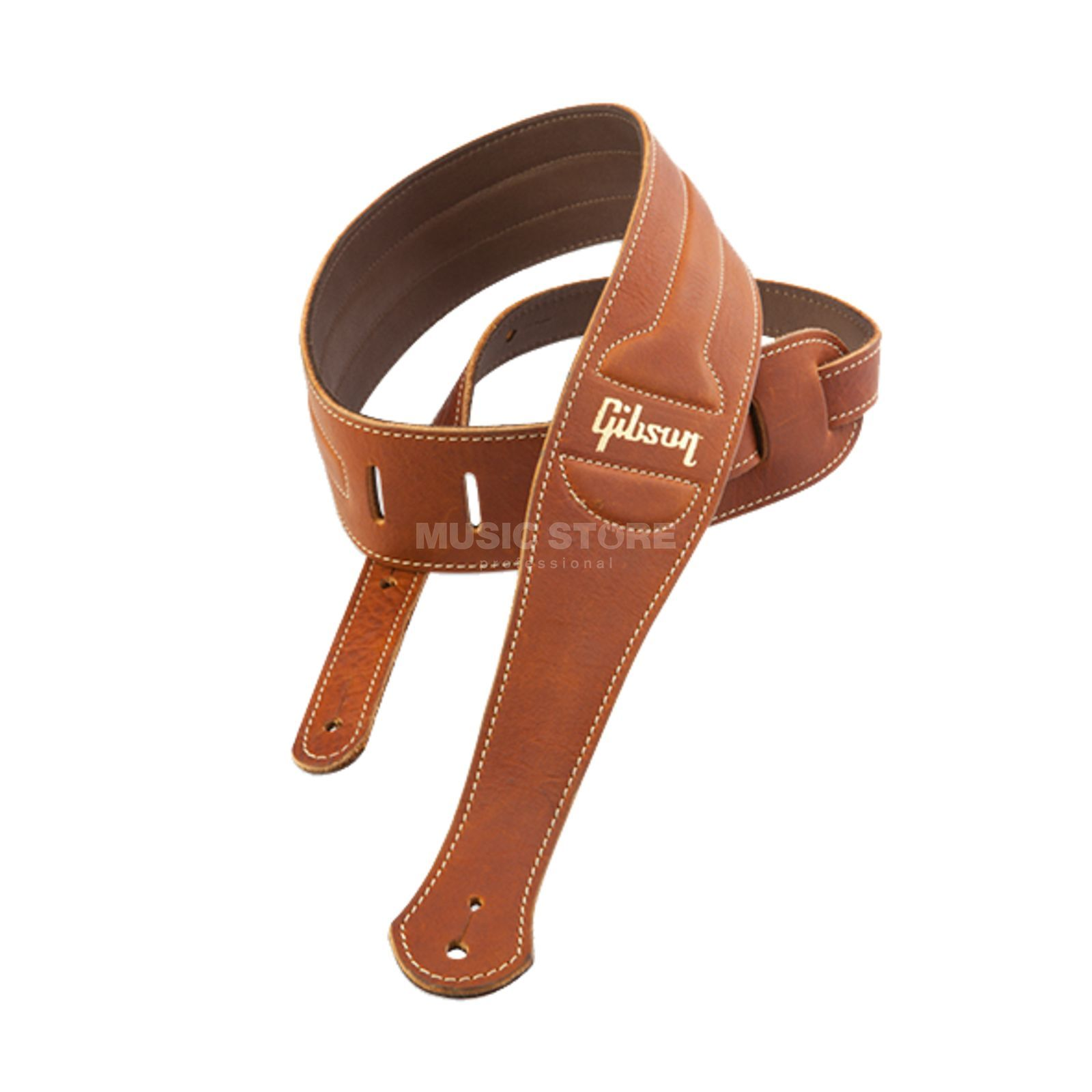 Gibson ASCL-BRN Classic Strap Brown Leather Suede Back Produktbild