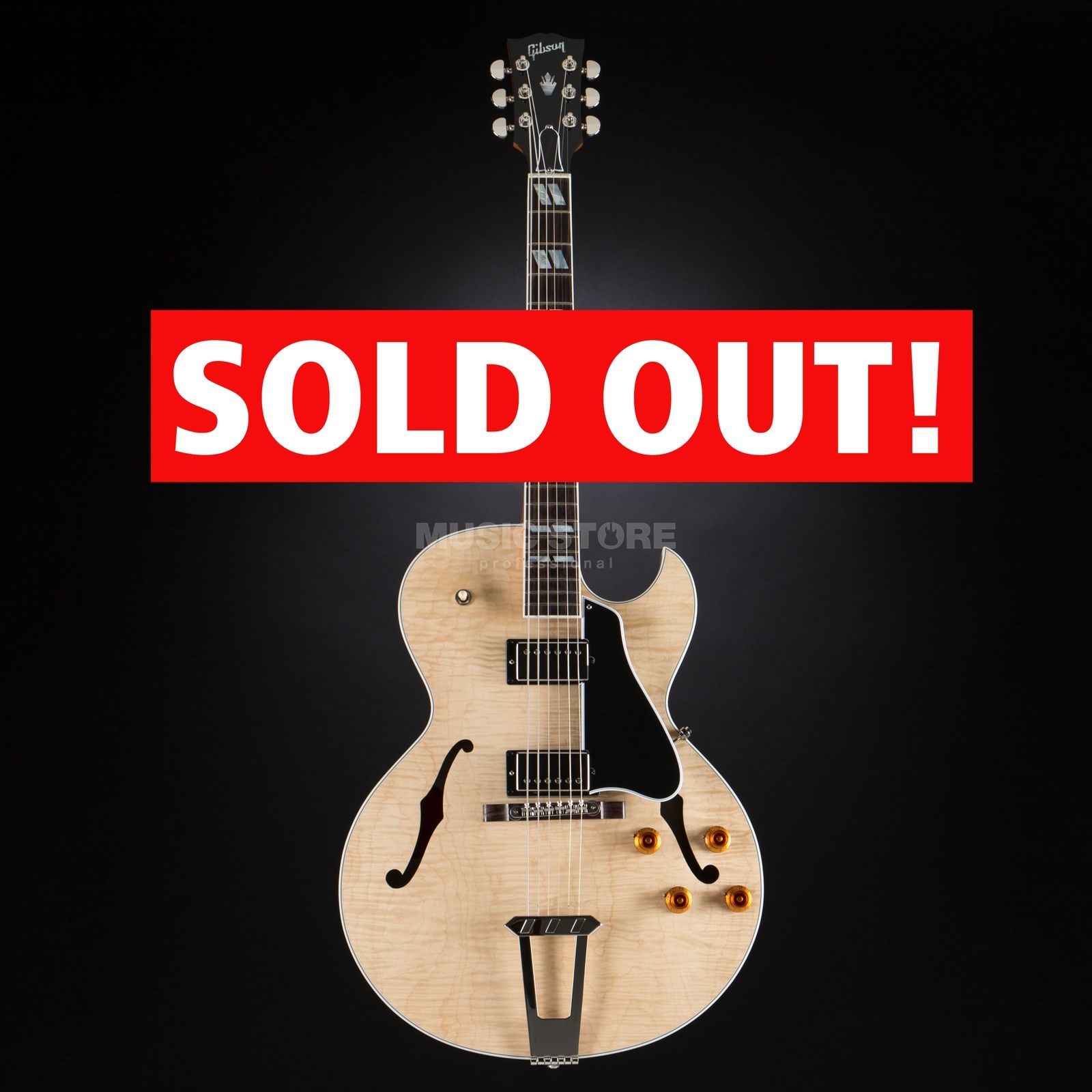 Gibson ES-175 Figured Natural #11766749 Product Image
