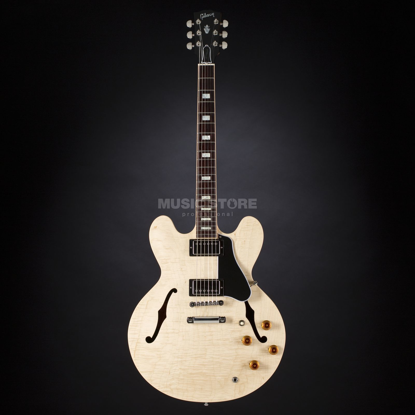 Gibson ES-335 Figured Natural #10286731 Produktbillede