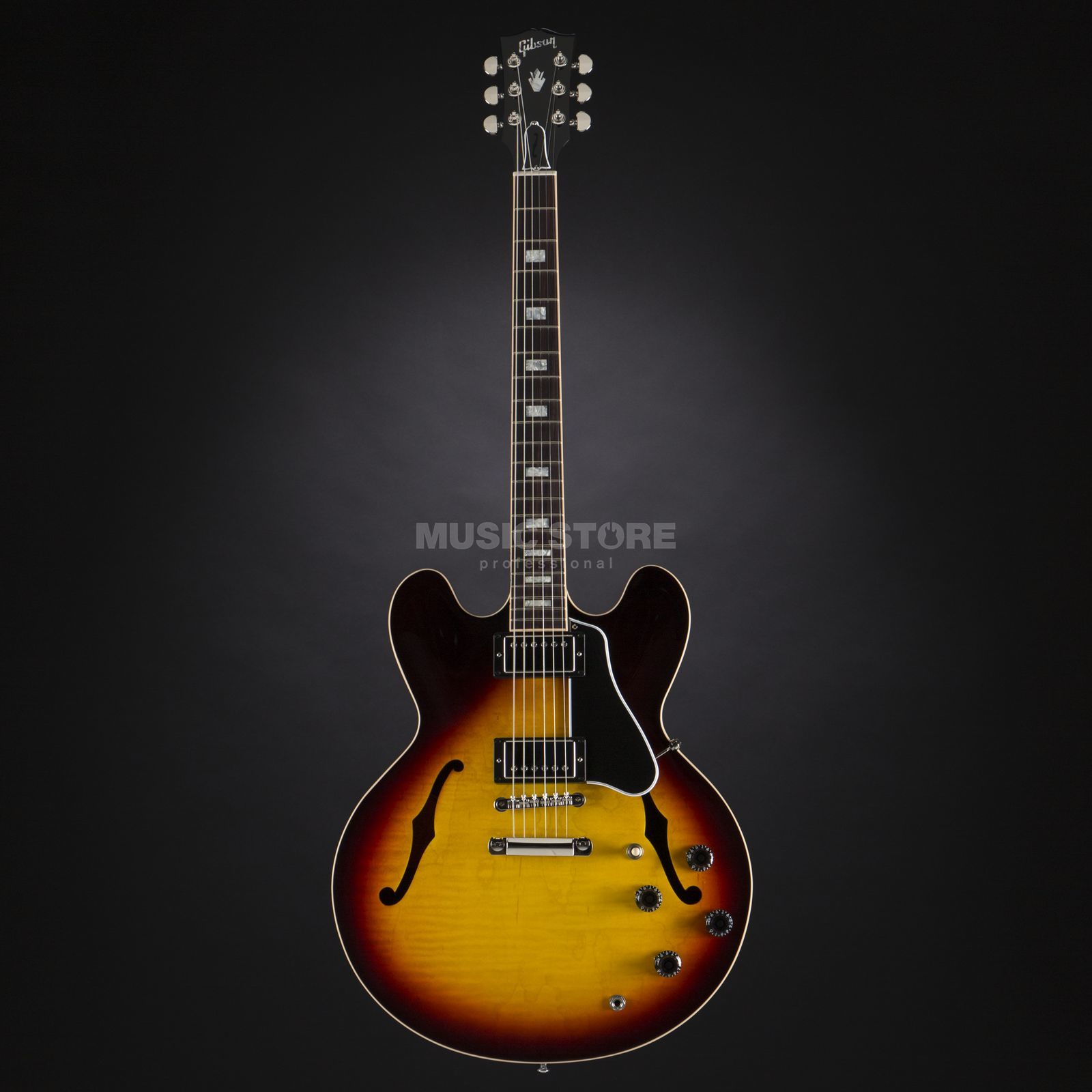 Gibson ES-335 Slim Neck Sunset Burst #11726739 Produktbillede
