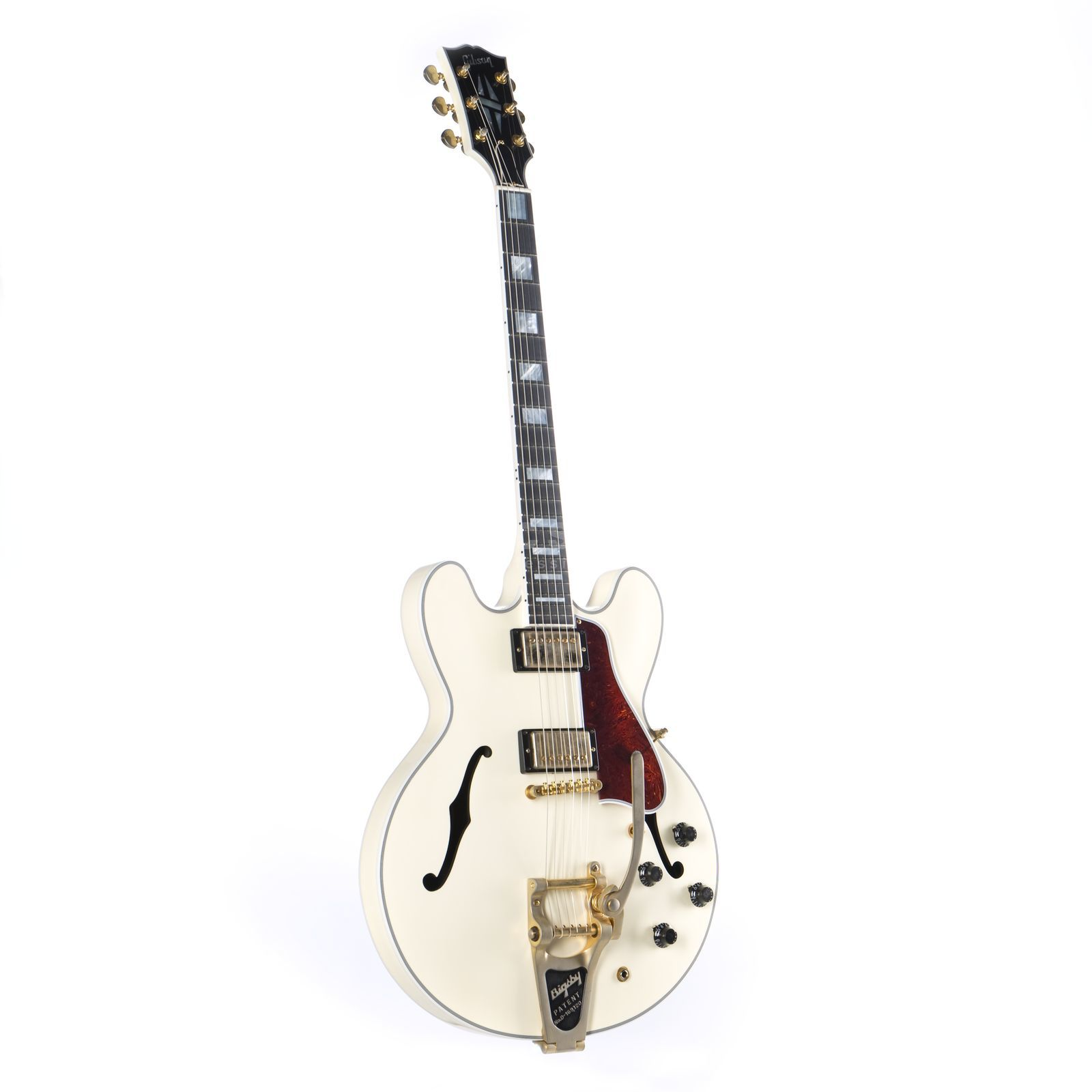 Gibson ES-355 VOS Bigsby CW Classic White Productafbeelding