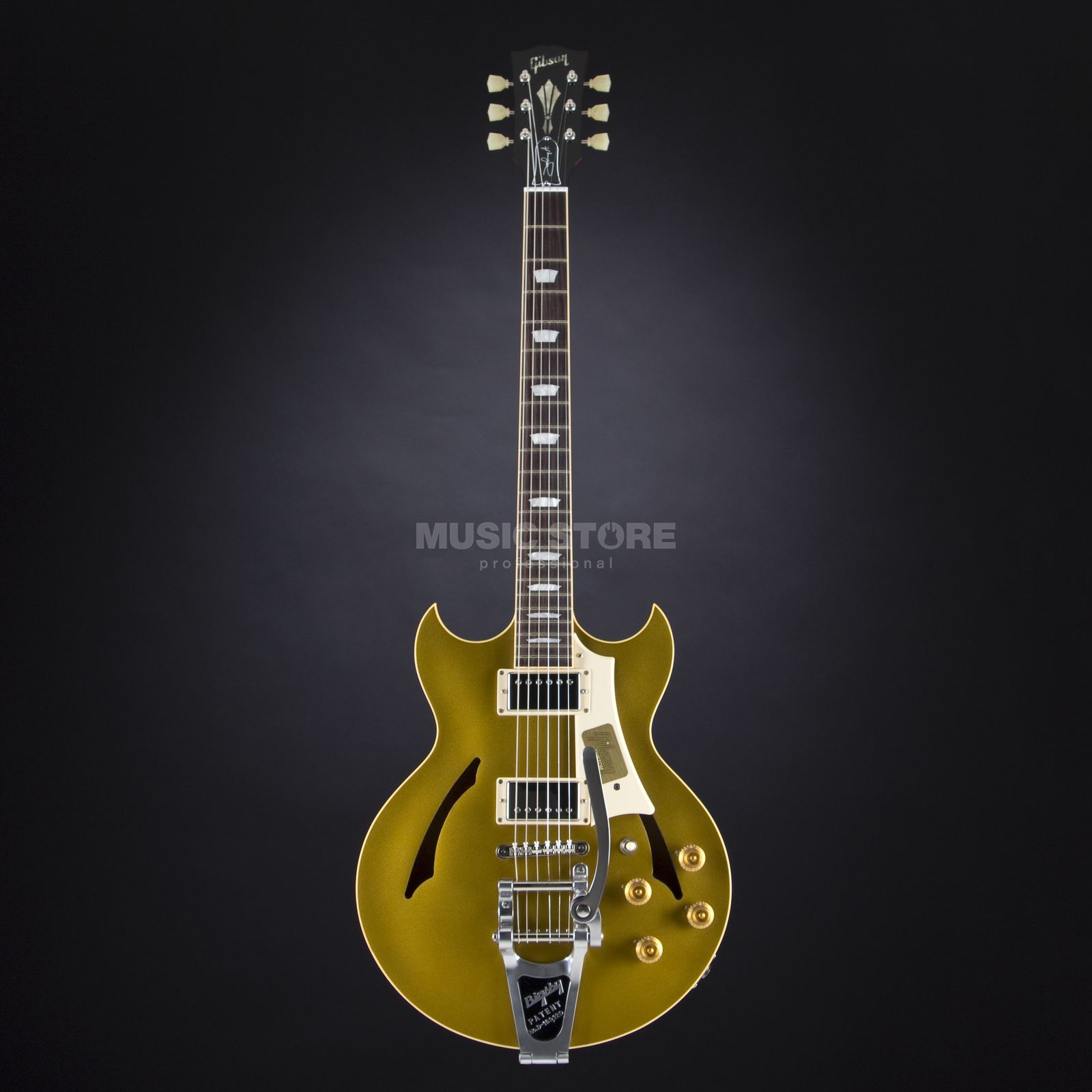 Gibson Johnny A Standard Bigsby AG Antique Gold # JAS086 Produktbild