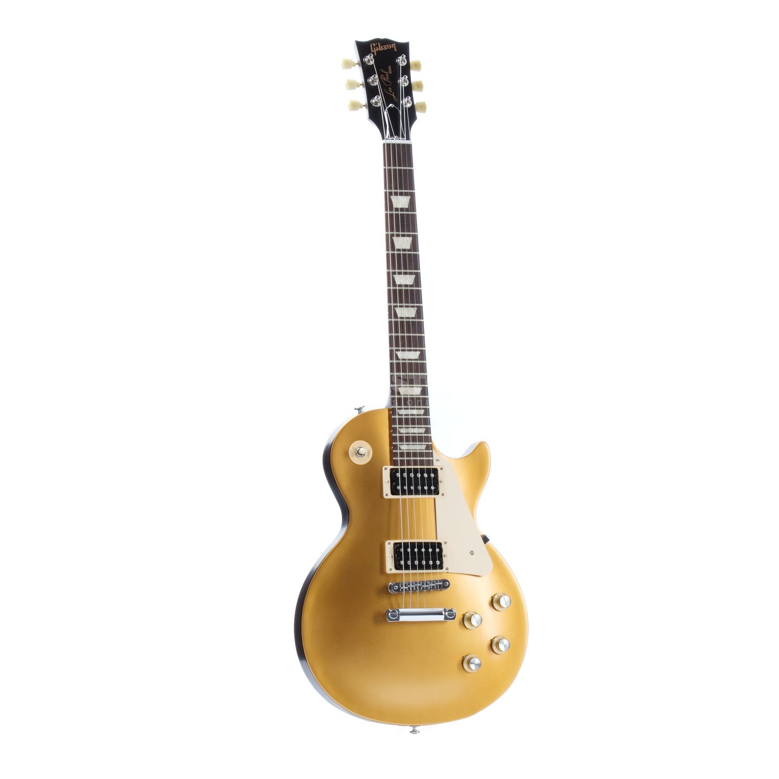 Gibson Les Paul 50s Tribute 2016 T GT Satin Gold Top Produktbillede