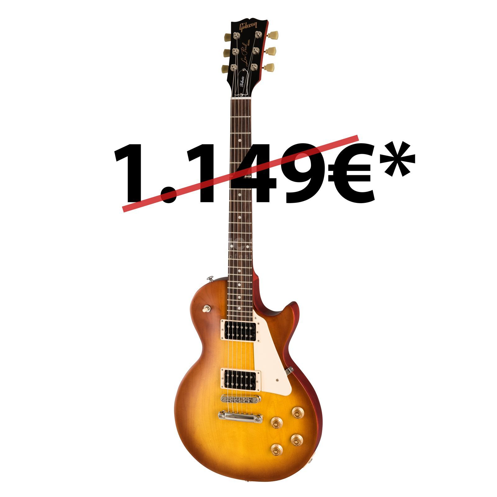 Gibson Les Paul Studio Tribute 2019 Satin Iced Tea Product Image