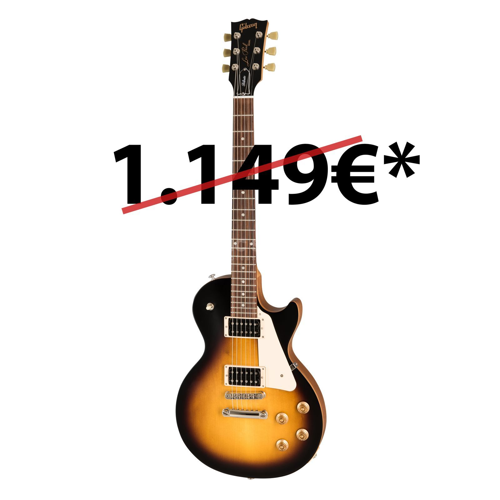 Gibson Les Paul Studio Tribute 2019 Satin Tobacco Burst Product Image