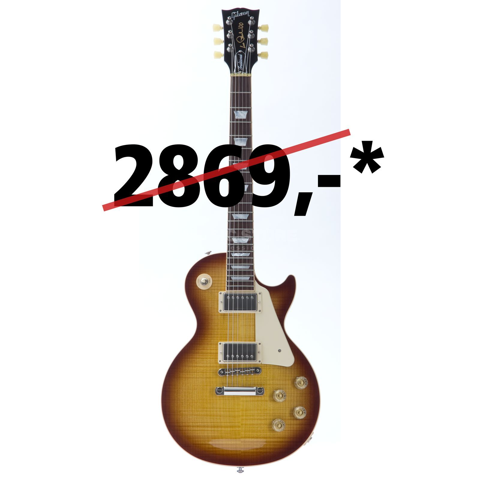 Gibson Les Paul Traditional 2015 HB Honey Burst Produktbillede