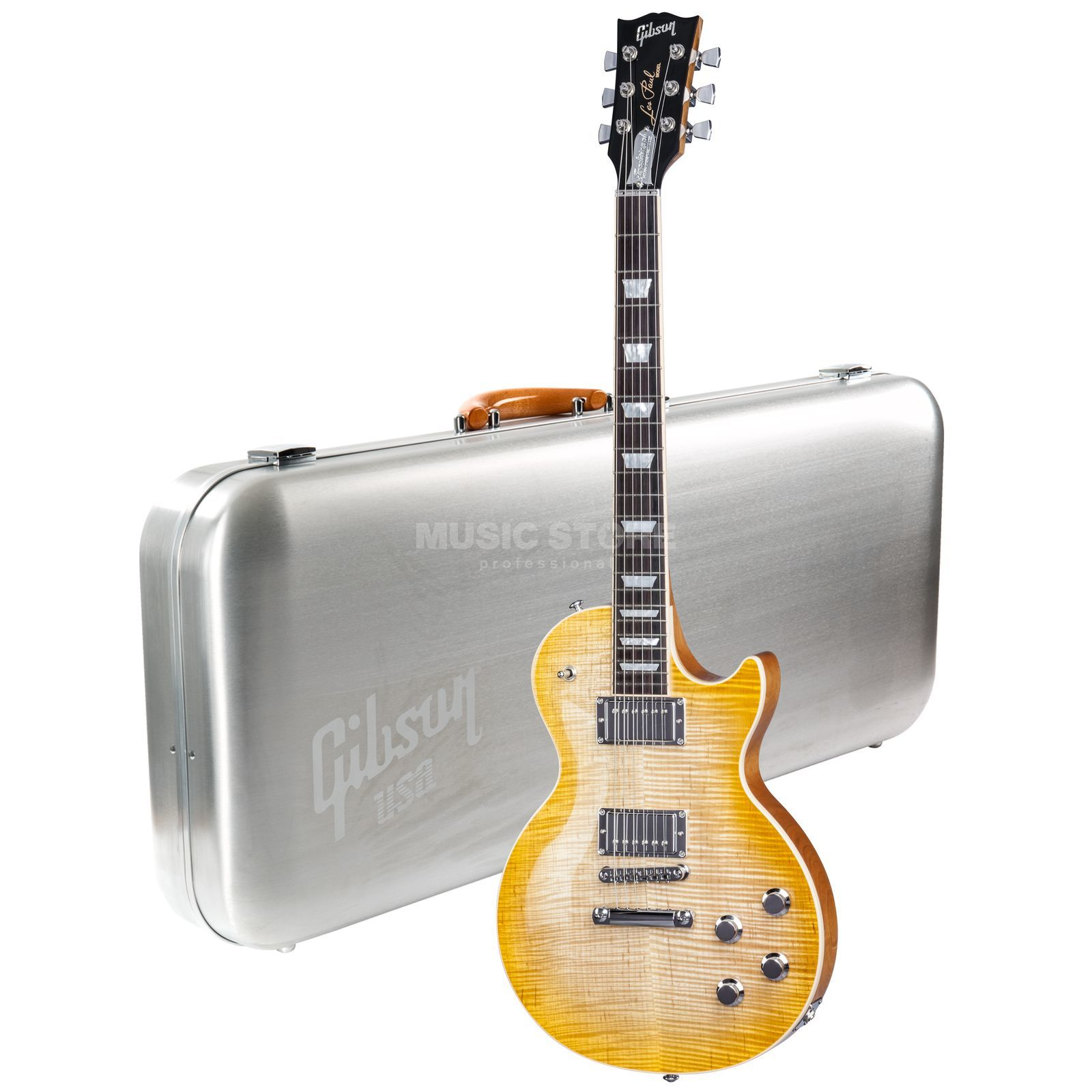 Gibson Les Paul Traditional HP 2017 Antique Burst Produktbillede