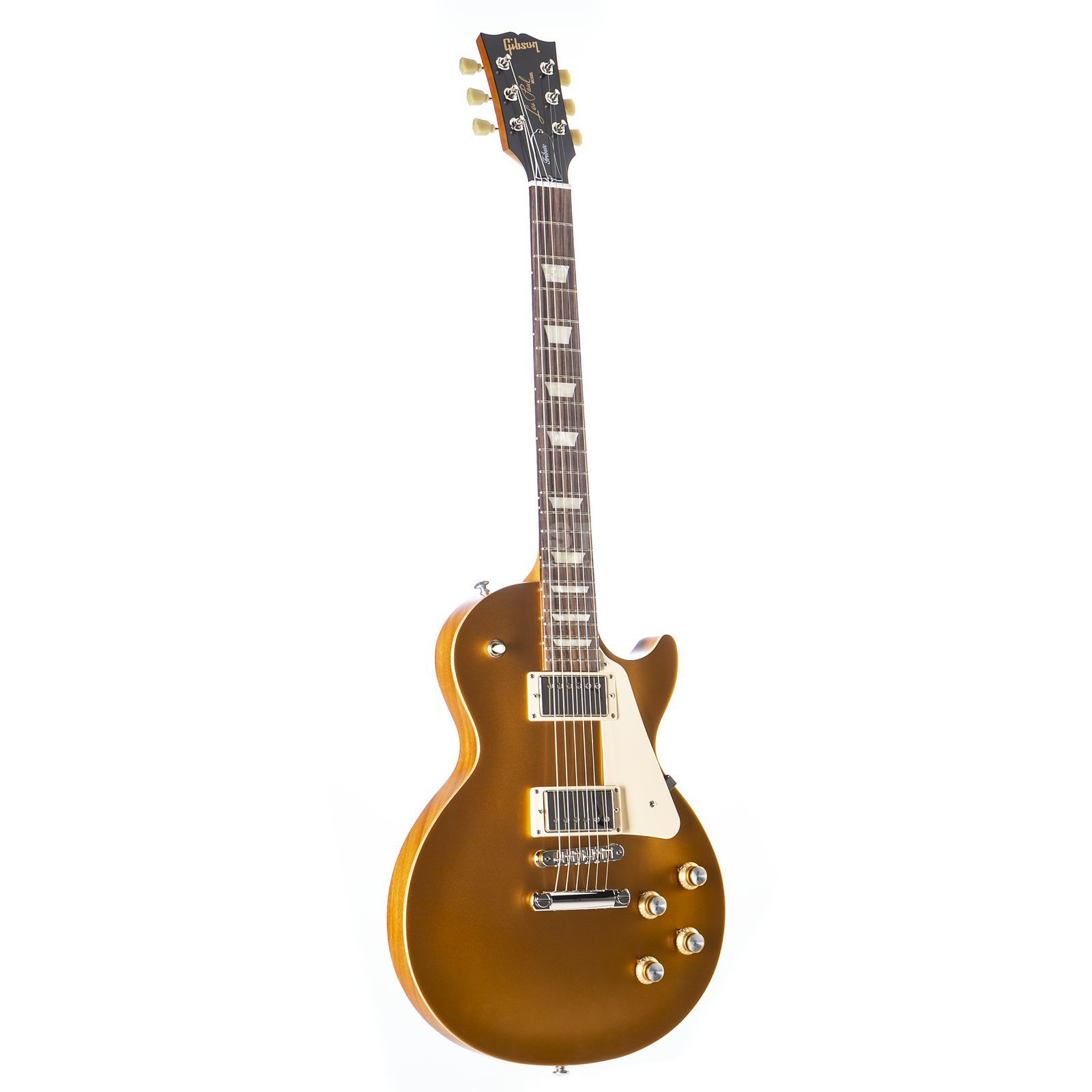 Gibson Les Paul Tribute 2018 Satin Gold Top Product Image