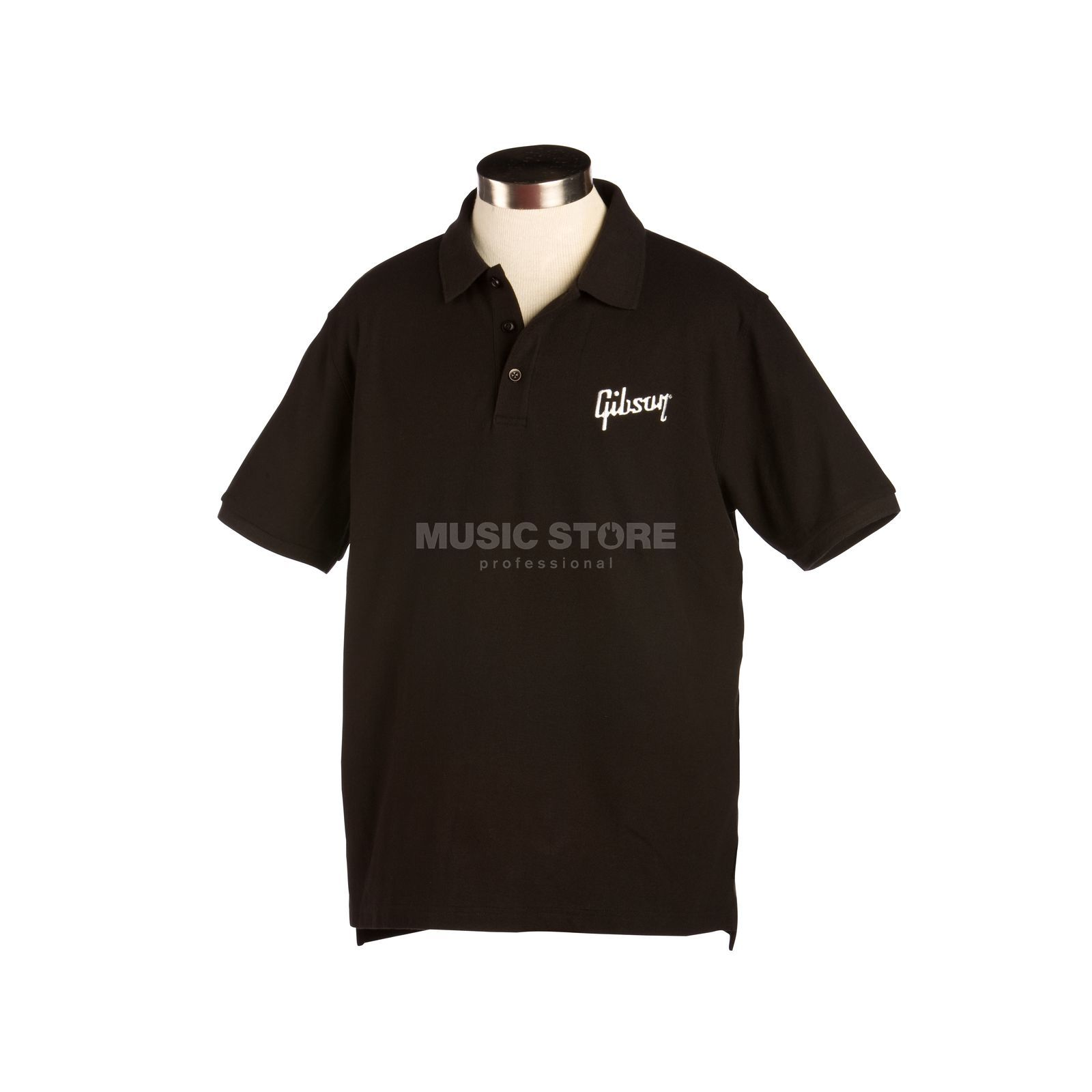 Gibson Logo Men's Polo M Black Produktbild