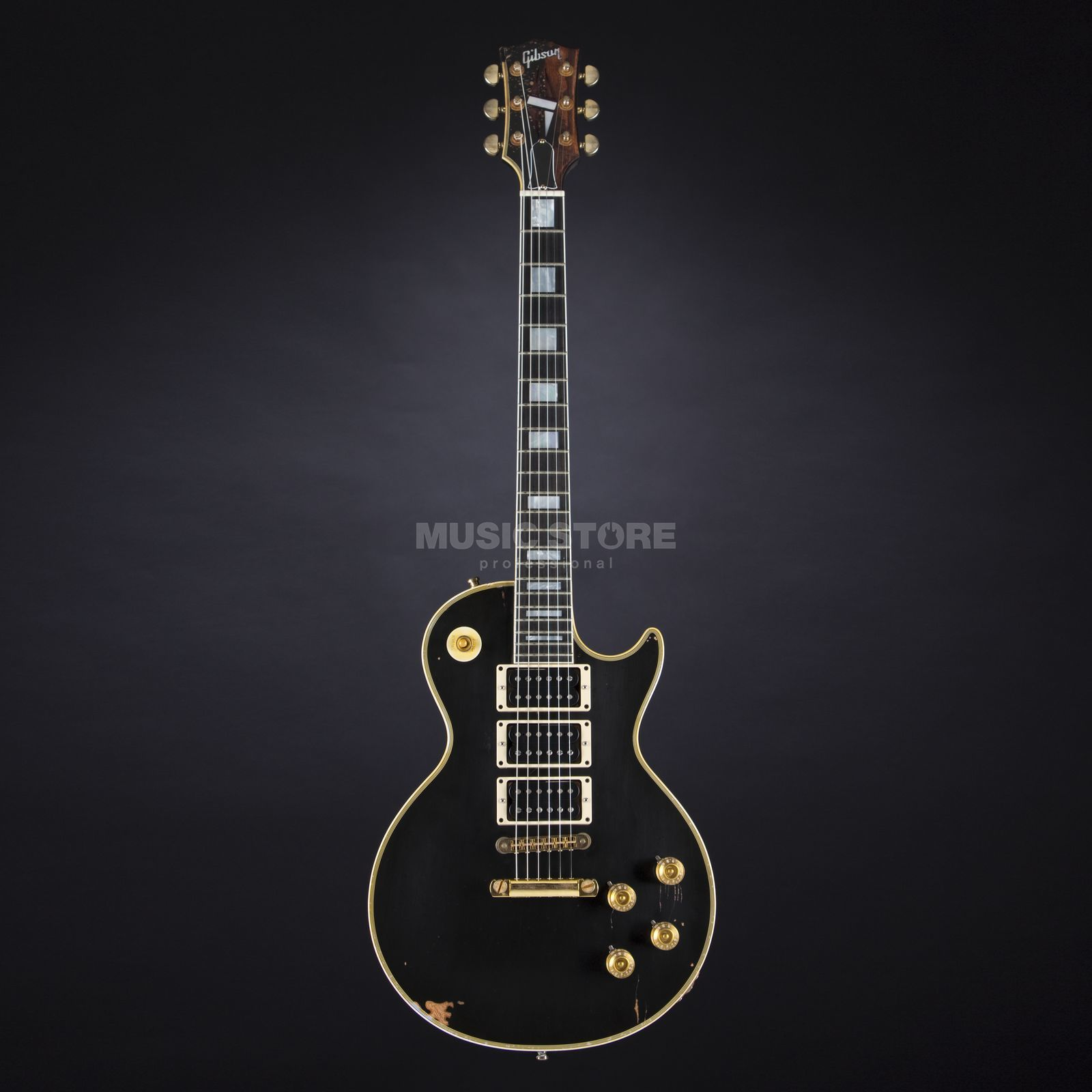 "Gibson Peter Frampton ""Phenix"" 1954 Les Paul Custom Ebony Aged and Signed #23 Produktbillede"